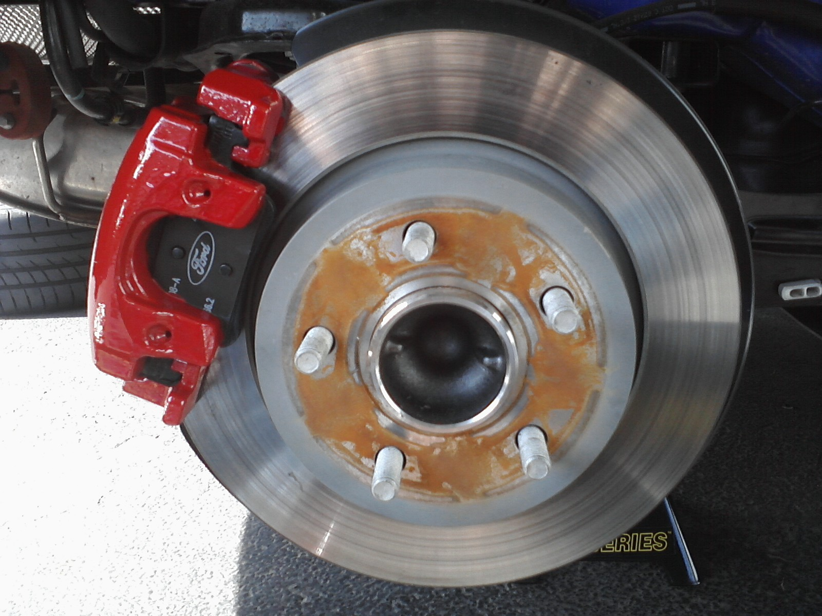 Brake Calipers Painted Not Clips