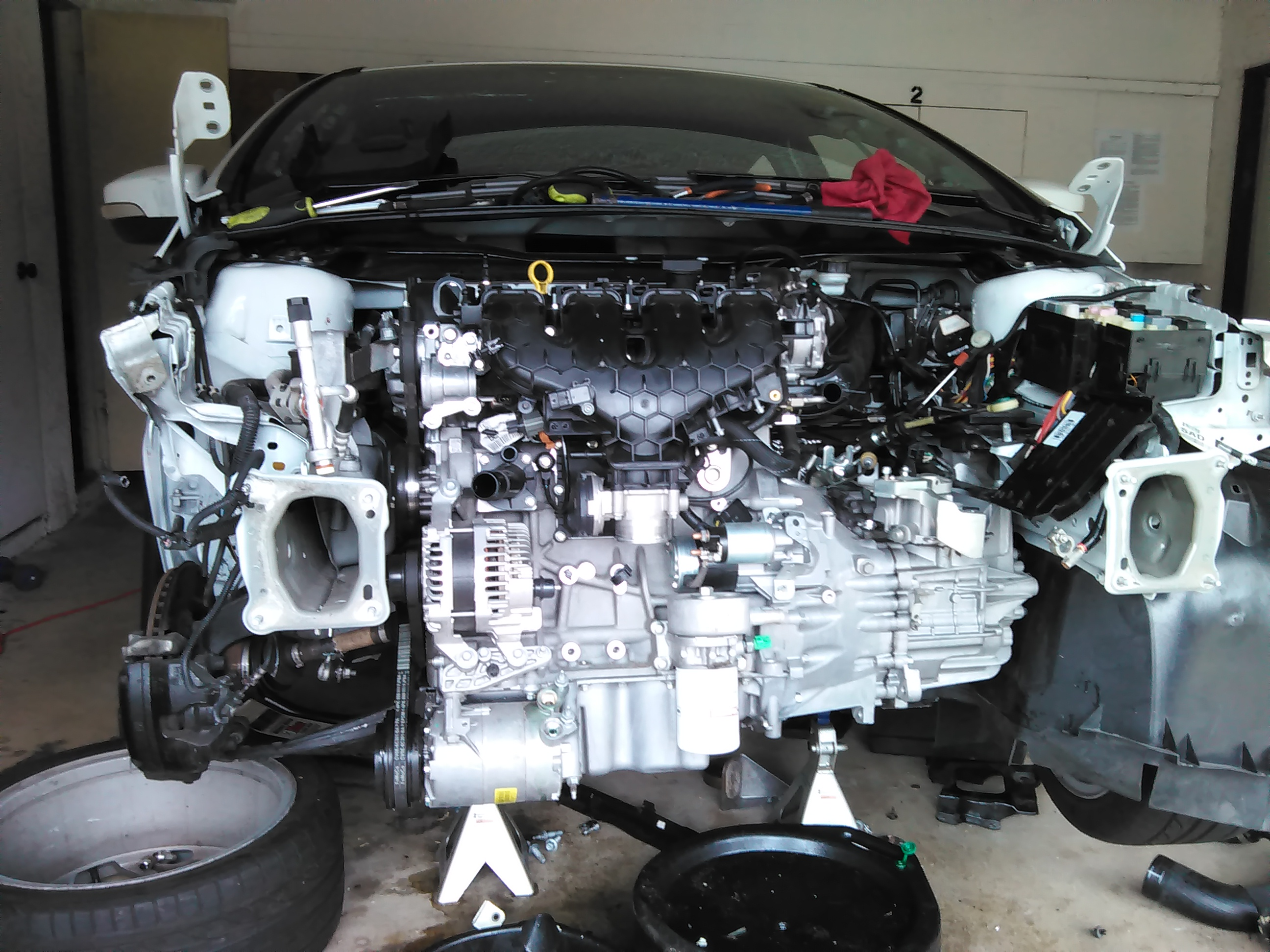 Do I need to clean the engine when replacing the oil
