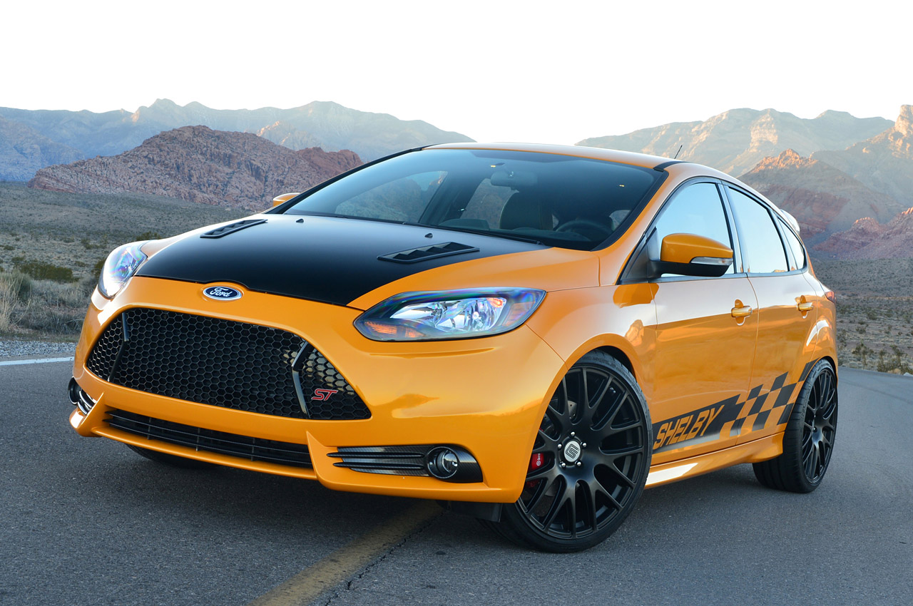 shelby unveils tuned ford focus st. Black Bedroom Furniture Sets. Home Design Ideas