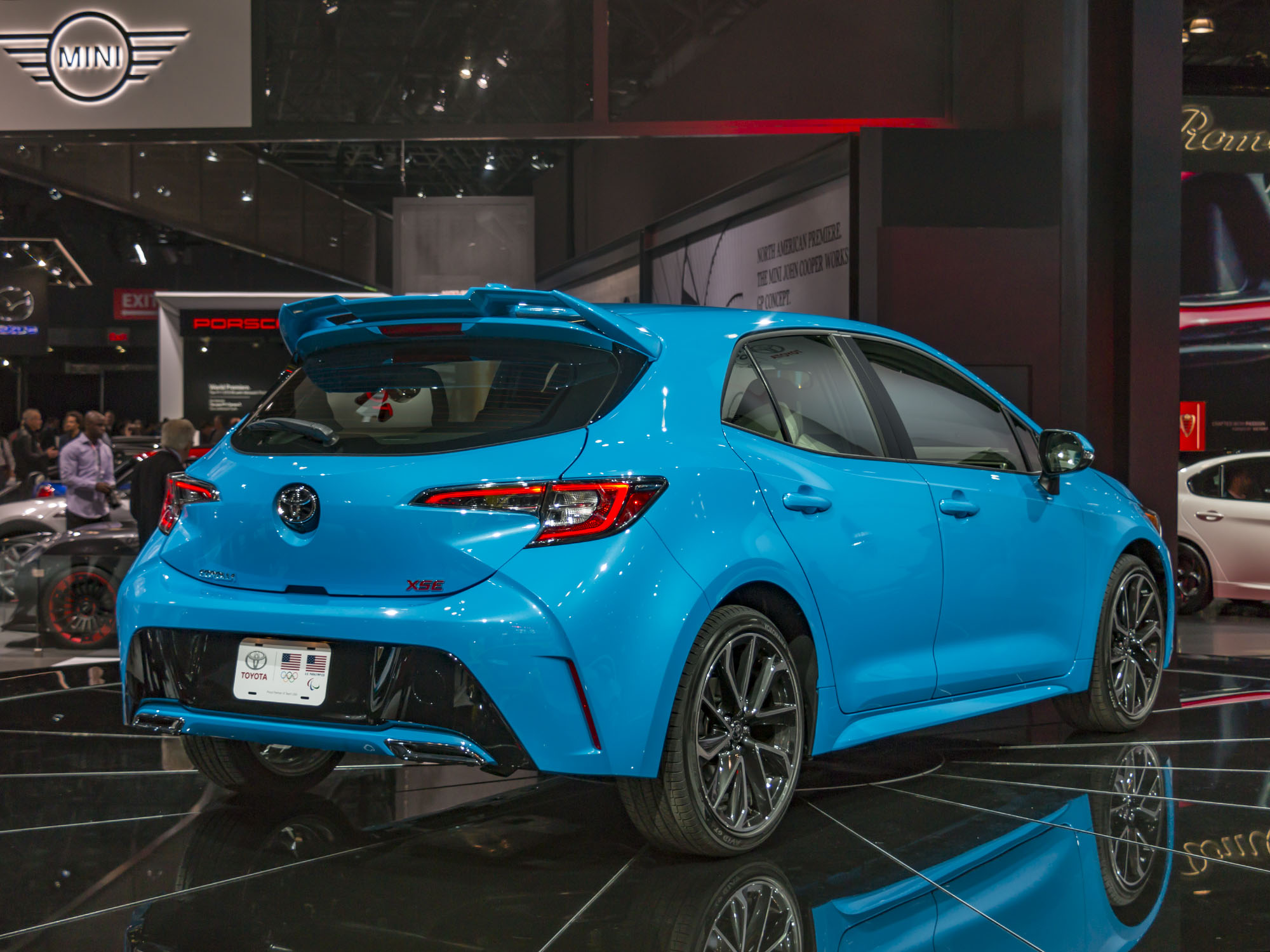 Just Saw The New Toyota Corolla Hatch
