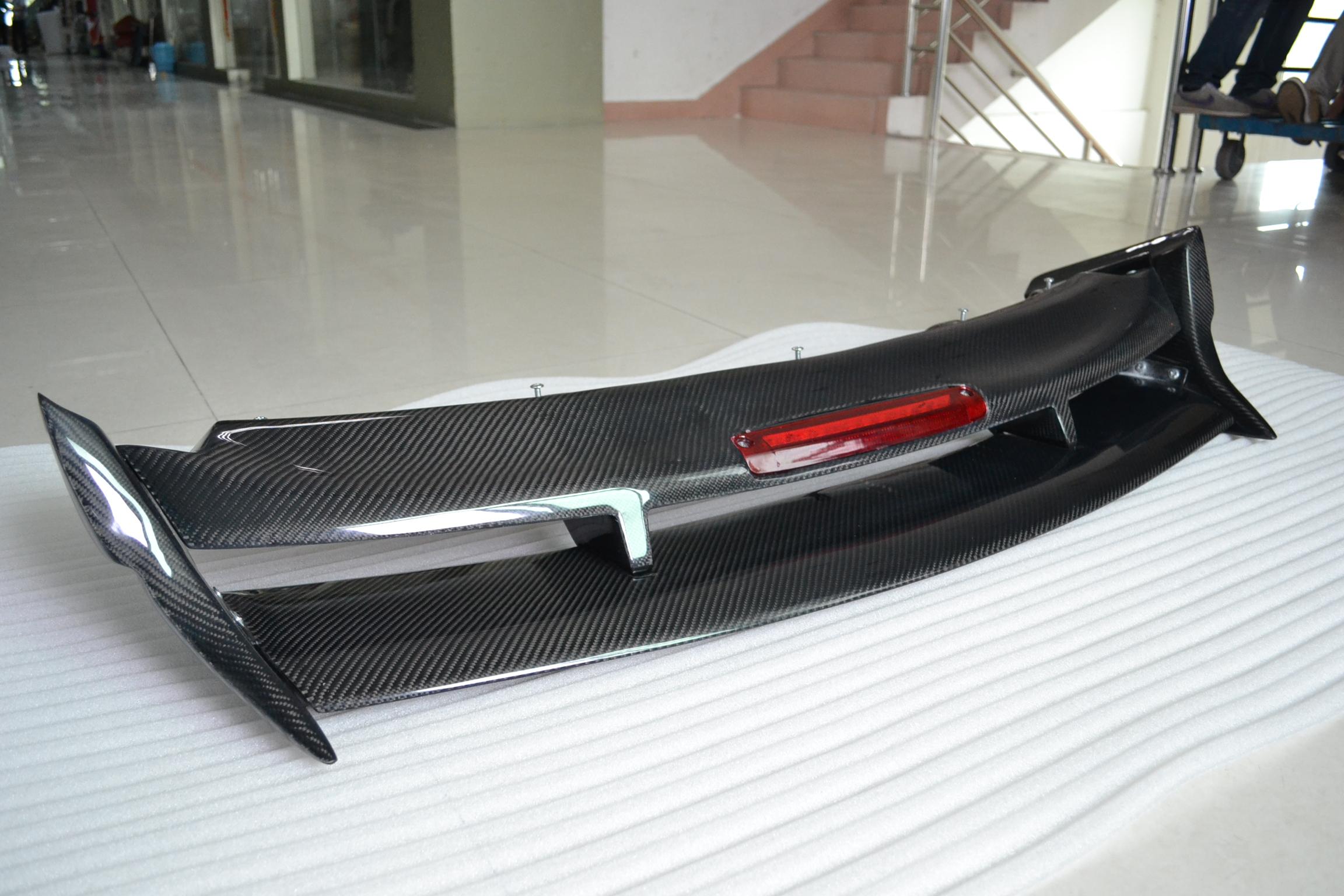 Full Carbon Fiber Bonnet And Rs Styled Spoiler