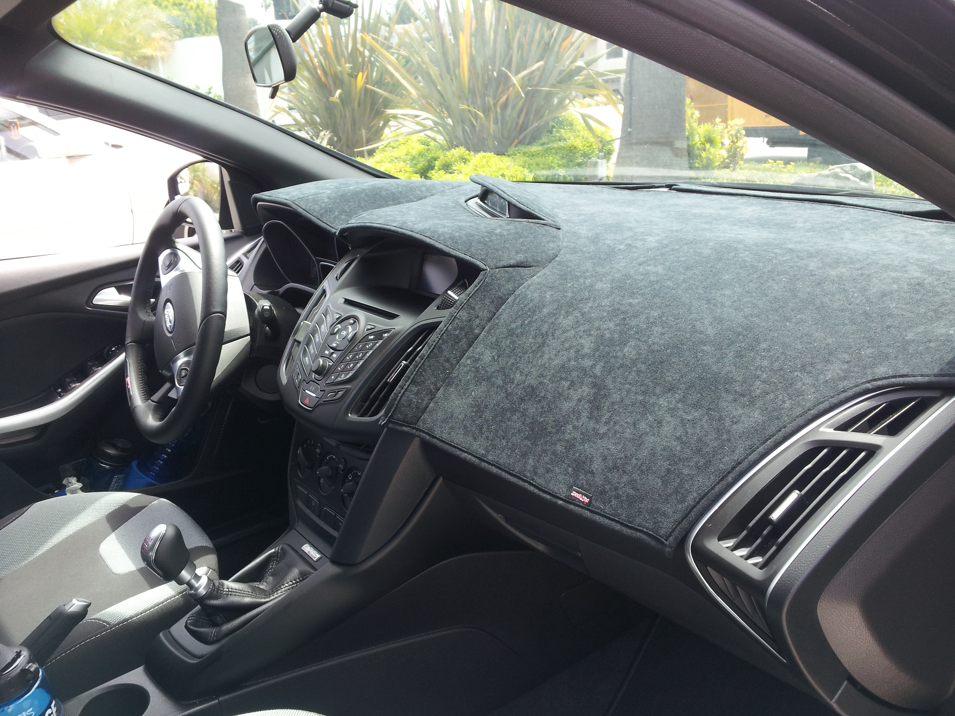 accessories ohio interior outfitters large dash mats in suedemat dashboard callout automotive sidney psg mat