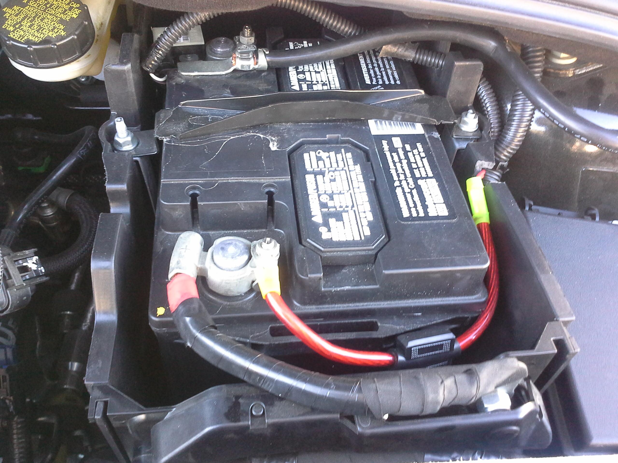 Wanna Be A Car Ford Focus Battery
