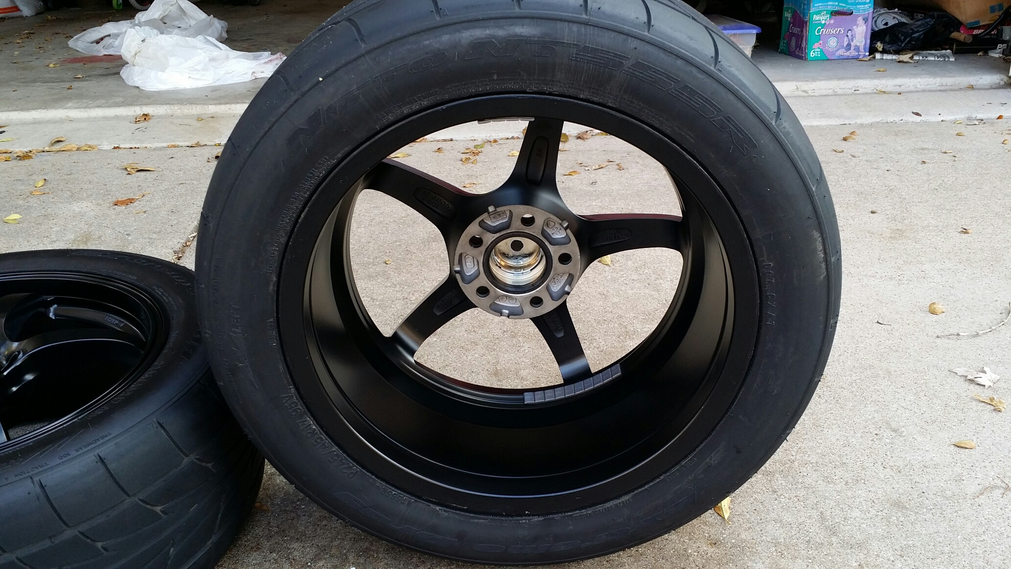 Sold Enkei Vr5 17x8 Wheels With Nitto 555r Drag Radials