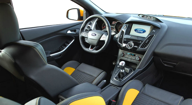 Attached Images. 2016 Ford Focus ST Interior