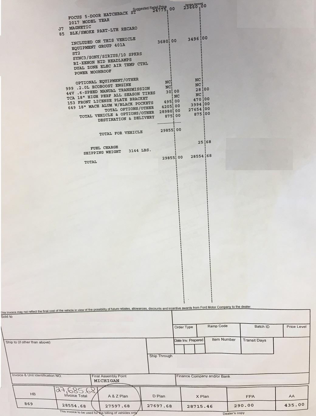 Ford X Plan Pricing >> Ford X Plan