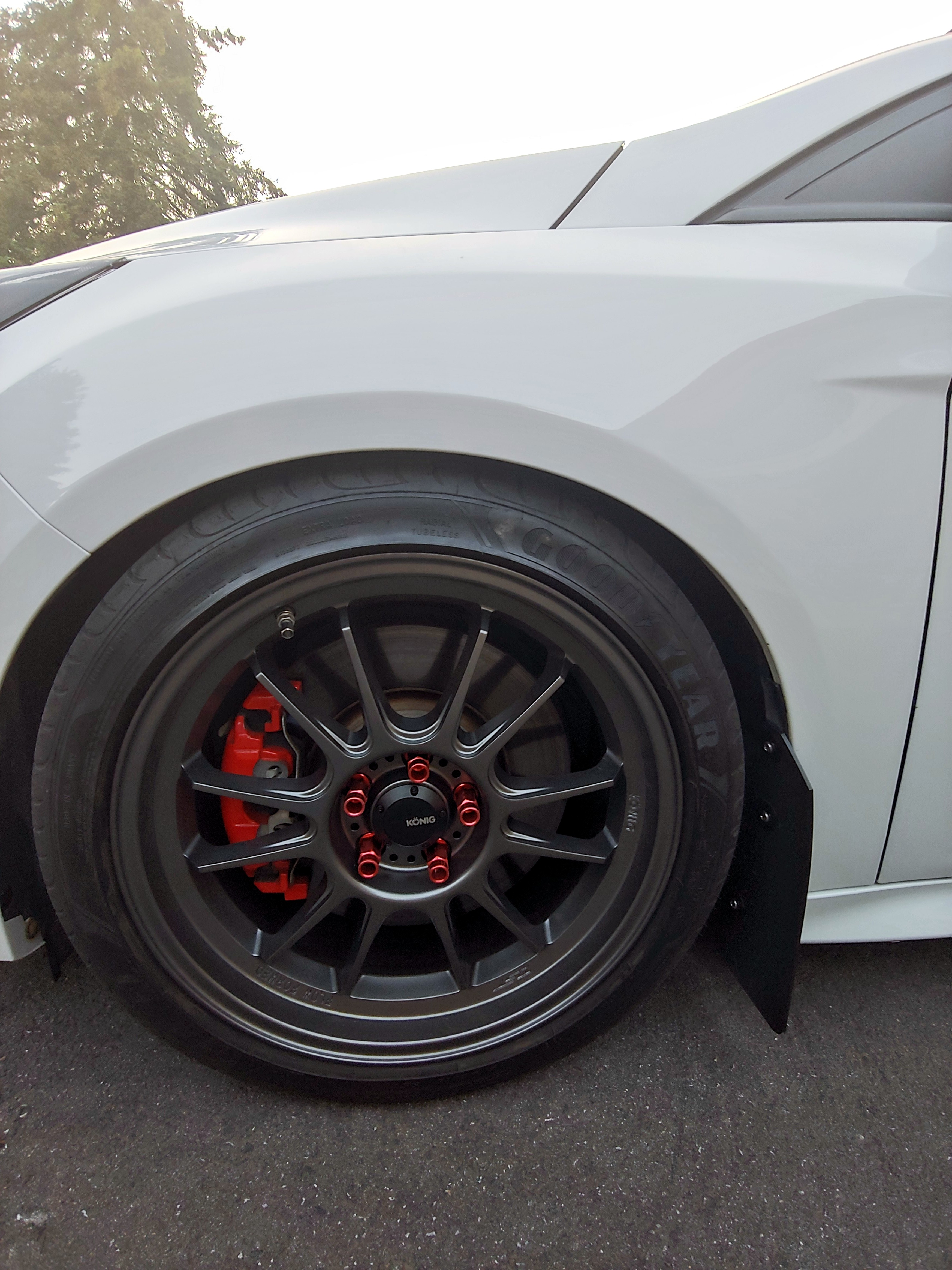 Eagle F1 Tires >> Official Focus ST Wheel and Tire Fitment Picture Thread ...