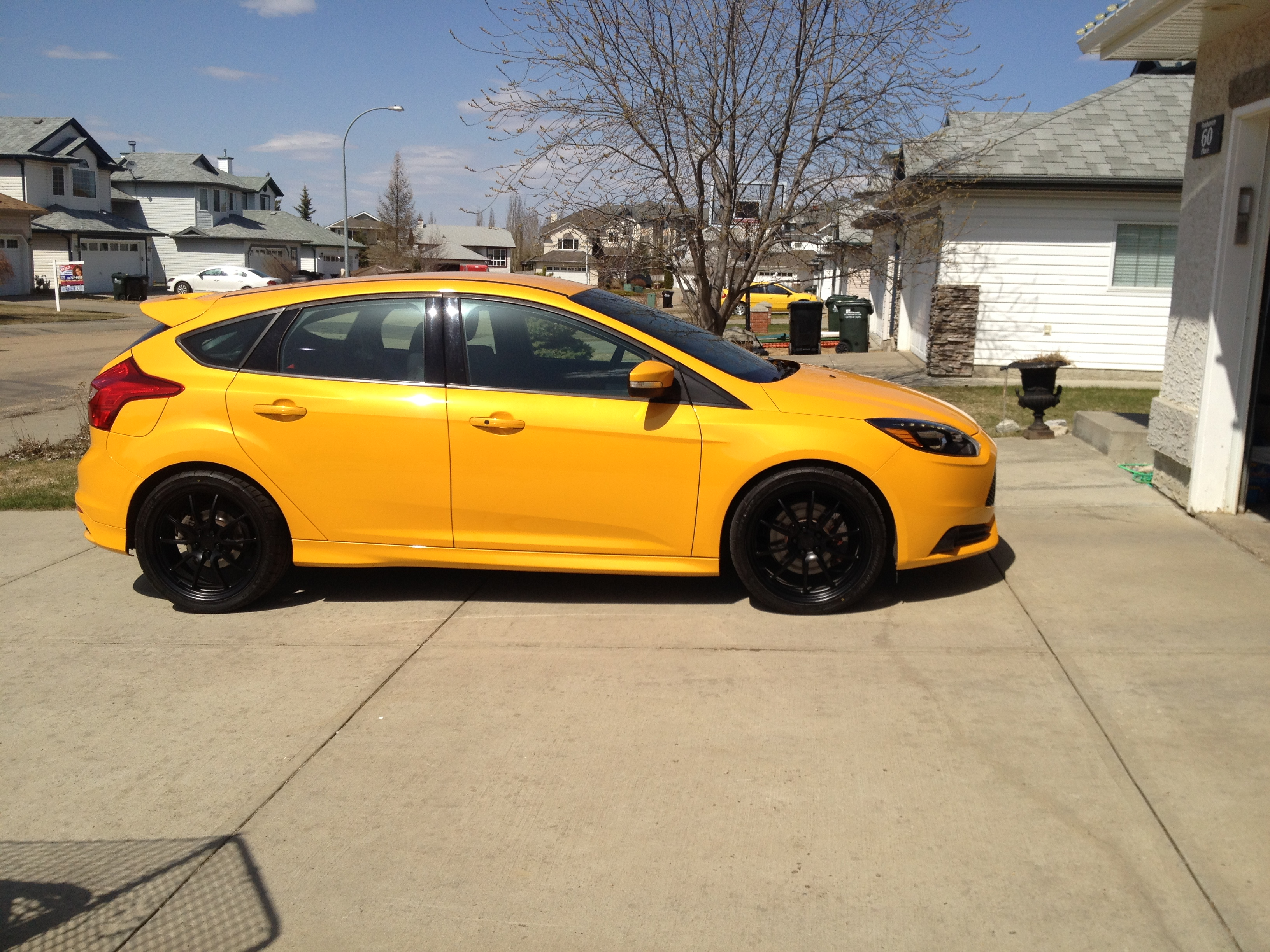 Focus St 19 Inch Wheels >> A Question About 19 Inch Wheels