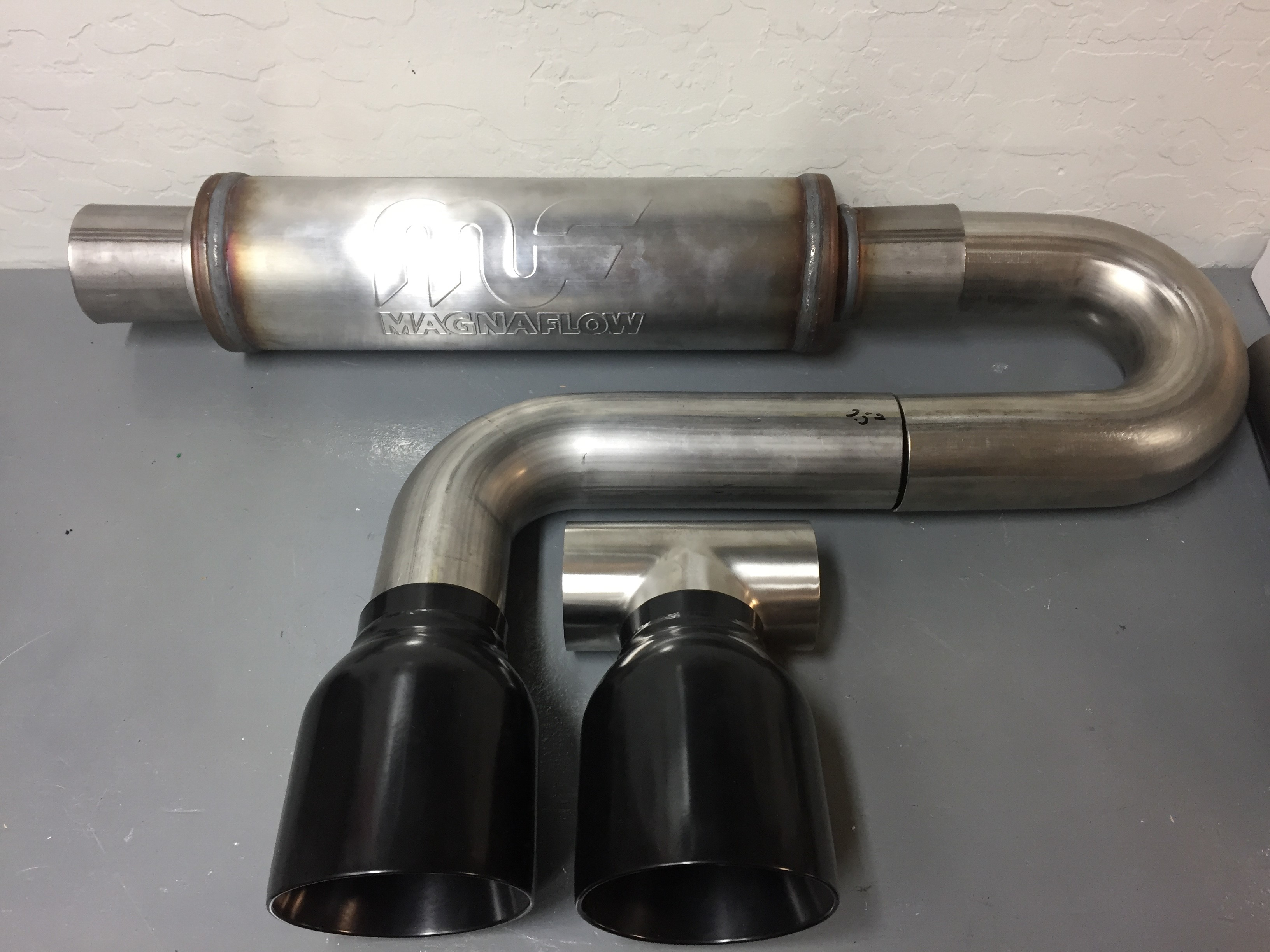 FS: Custom Exhaust Components - including Magnaflow muffler and