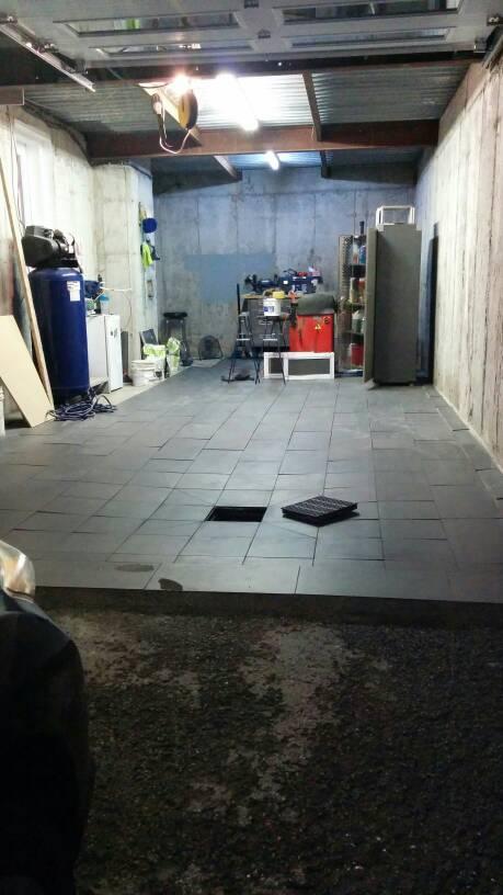 Garage Floor Coating Epoxy Vs Industrial Porcelain Tiles