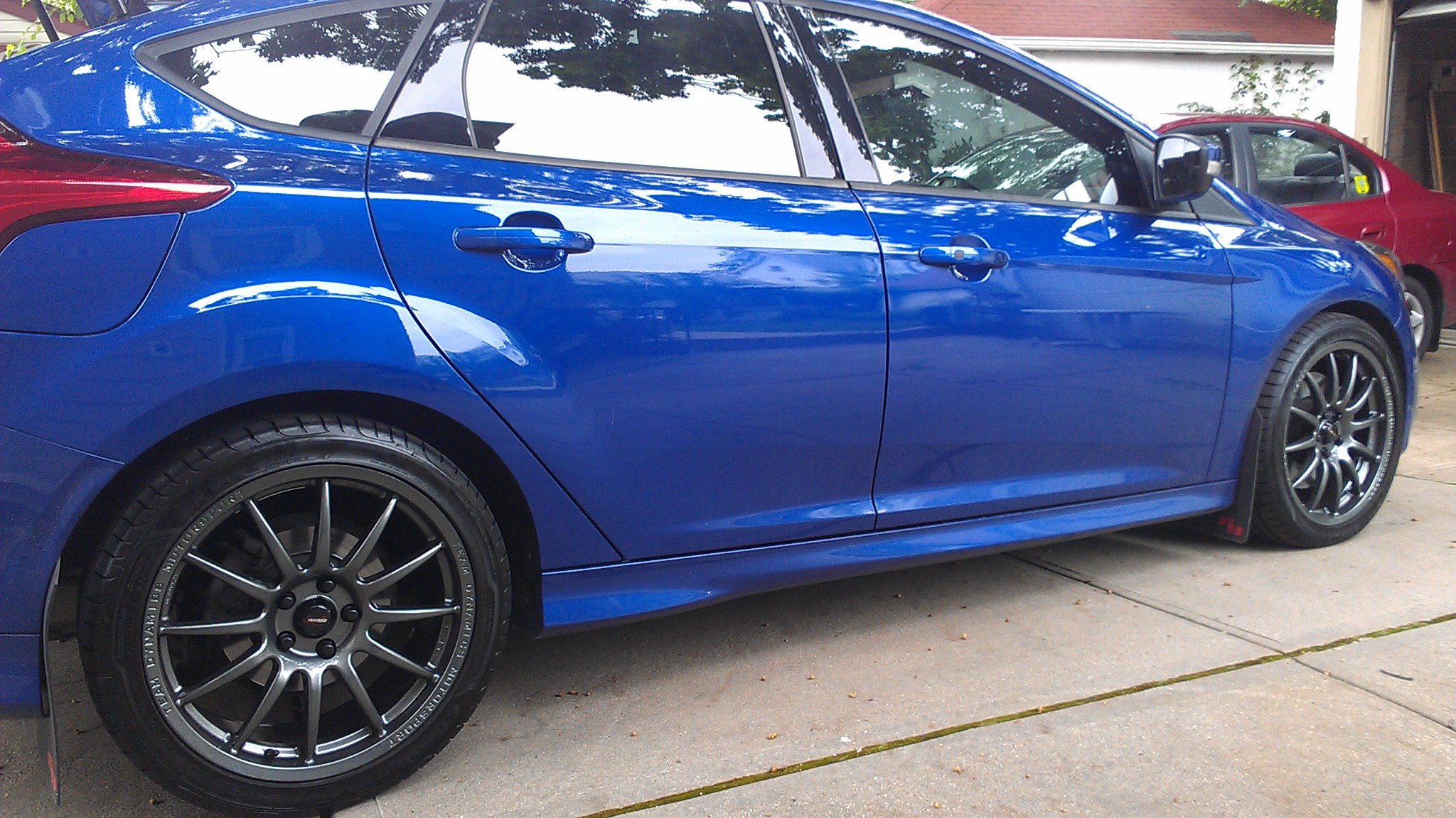 Aftermarket Wheels On Performance Blue Only