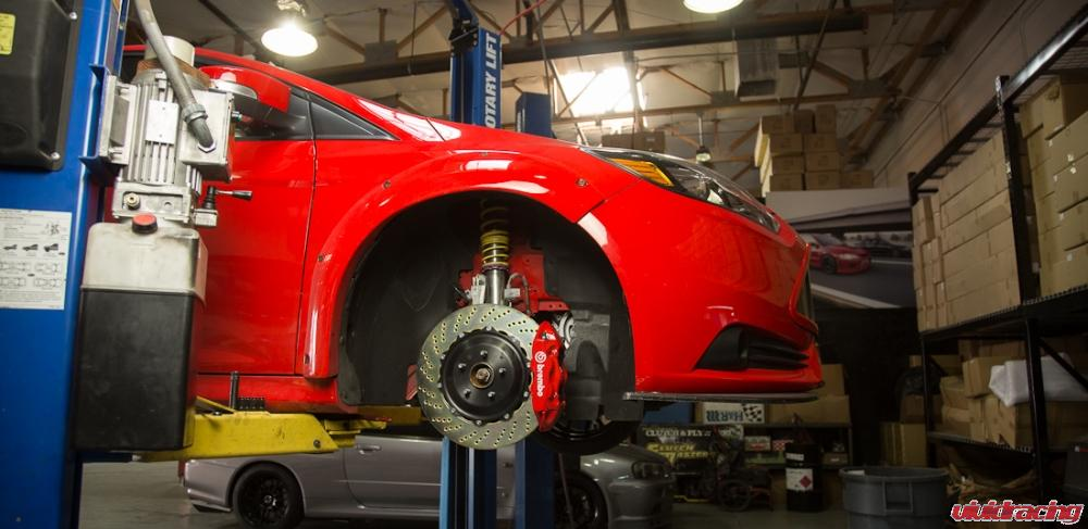 Ford Focus ST Better Braking with Brembo Big Brakes ...