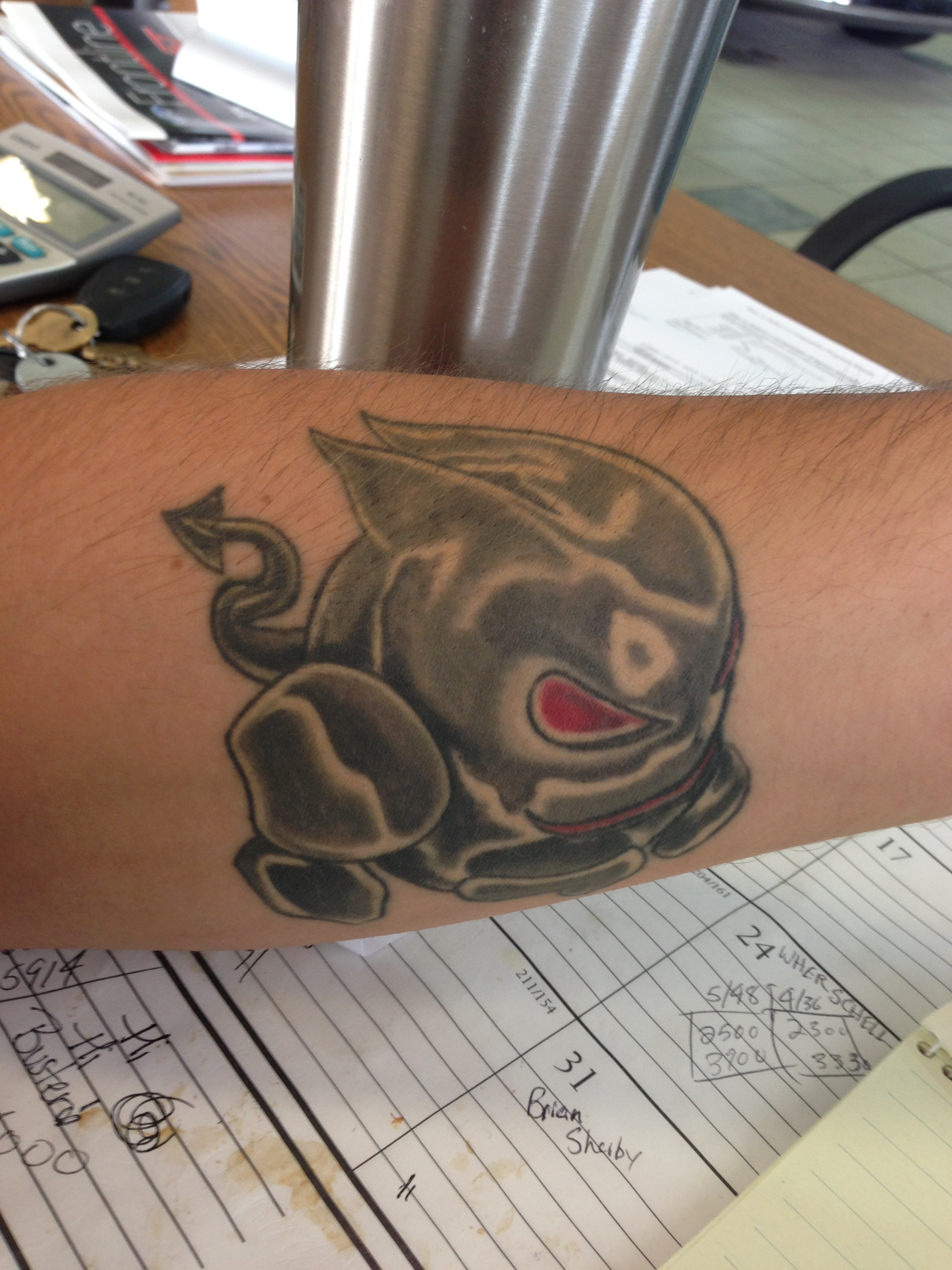 Automotive Tattoos