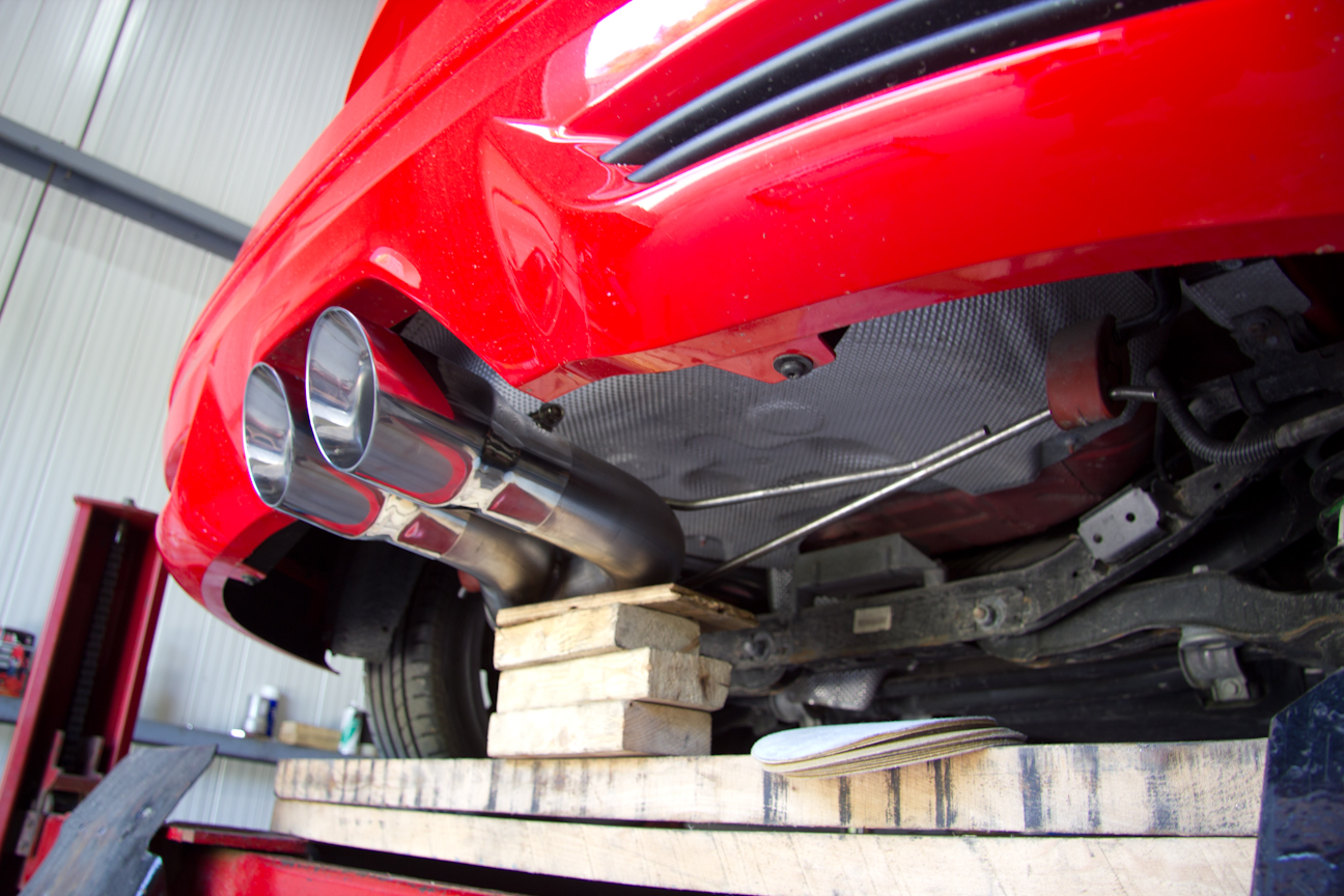Mbrp exhaust for the focus st check out the pics