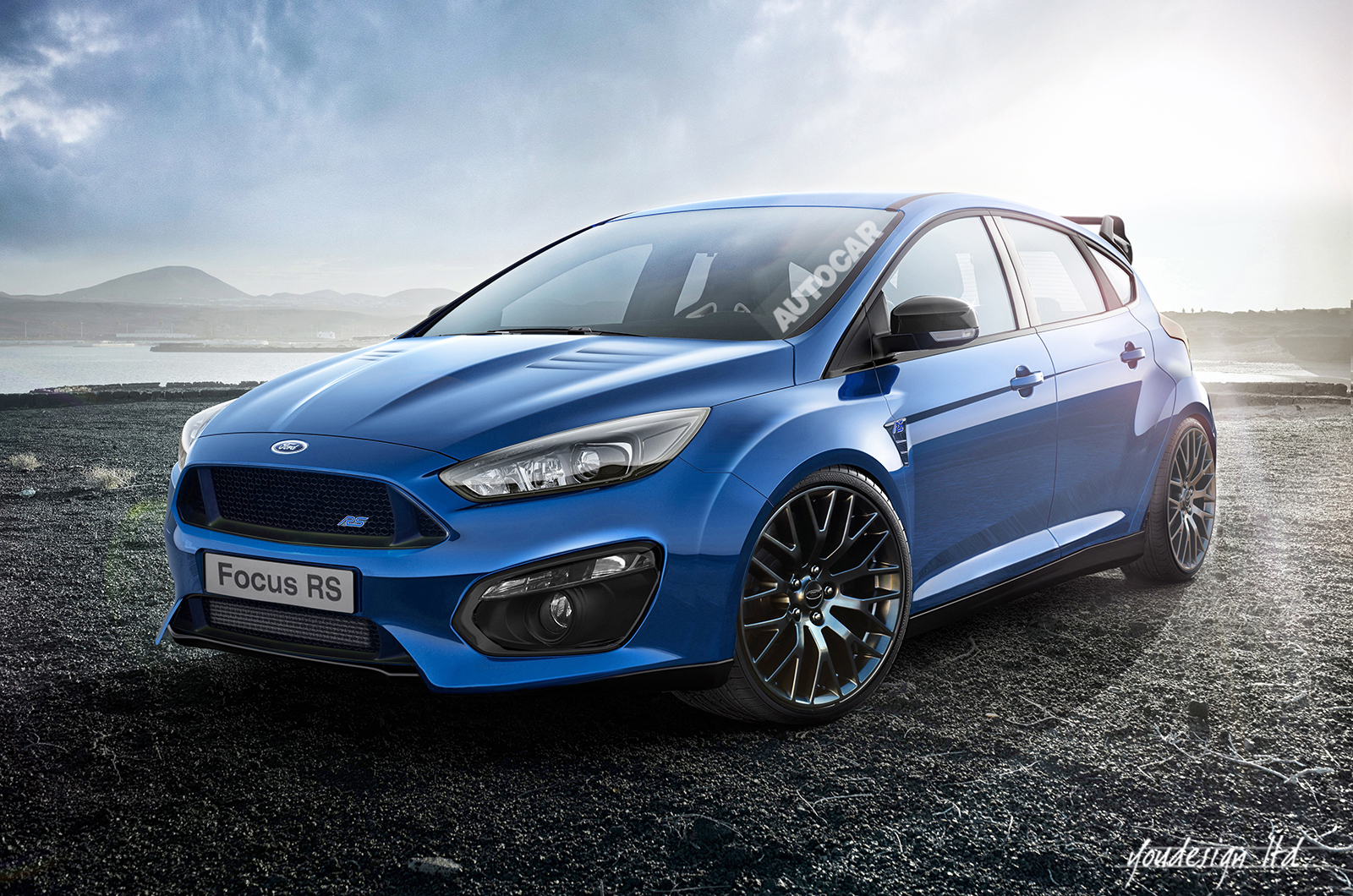 2016 ford focus rs spied almost undisguised page 8. Black Bedroom Furniture Sets. Home Design Ideas