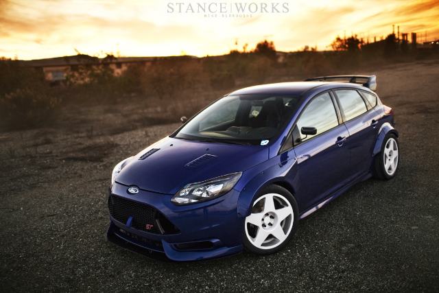 Ford Focus Rs Fender Flares >> Wide body kit