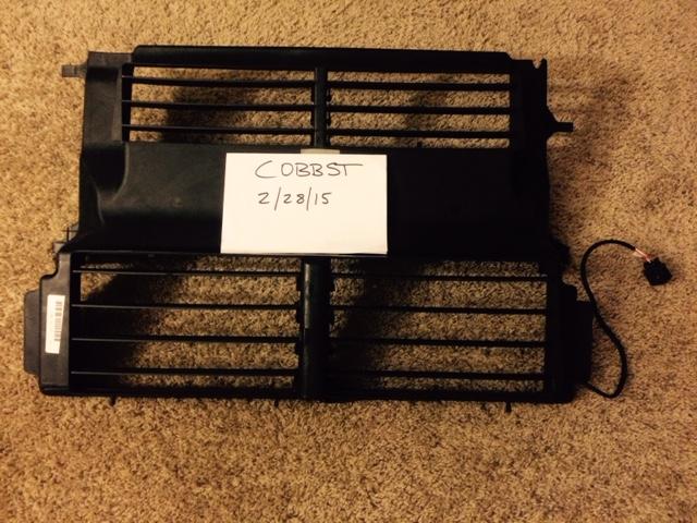 Sold Oem Intercooler Amp Ducting Intercooler Shroud