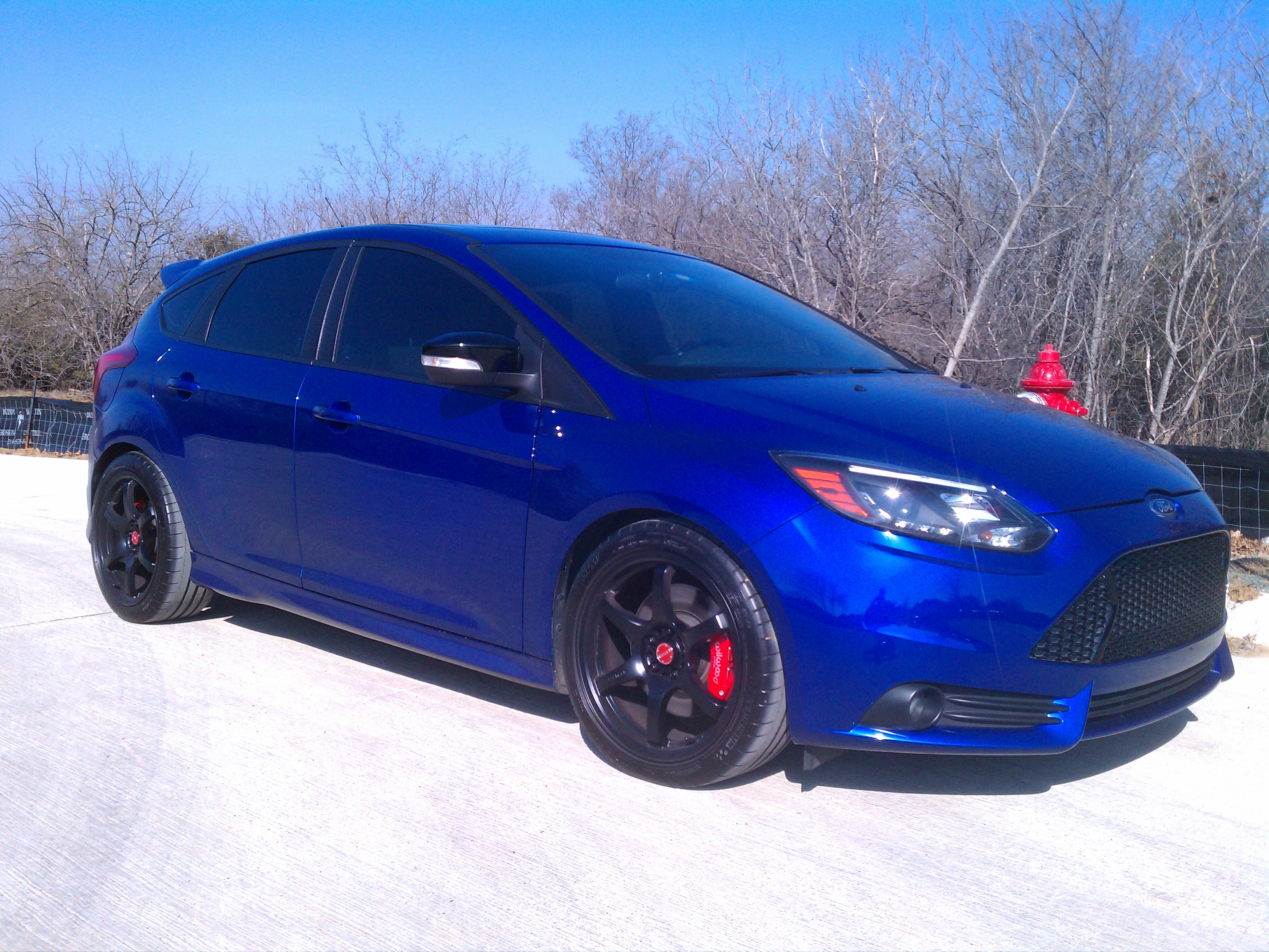 Fiesta St Forum >> Aftermarket Wheels on Performance Blue ONLY! - Page 3