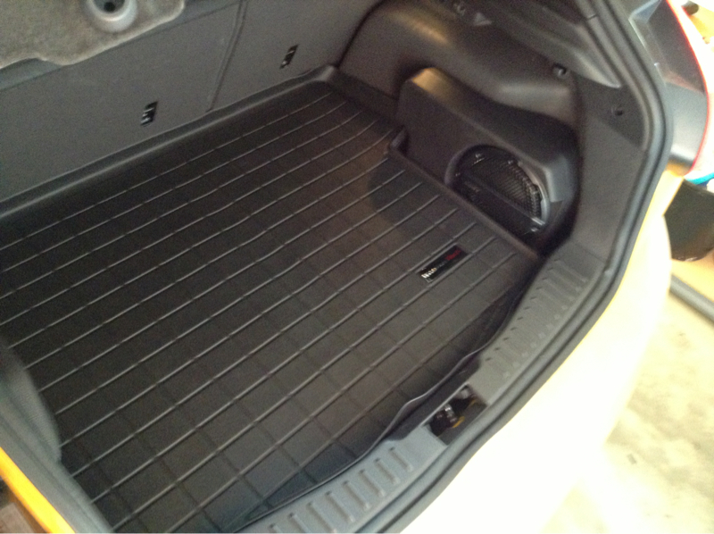 Ford Focus Rear Cargo Mat Page 6