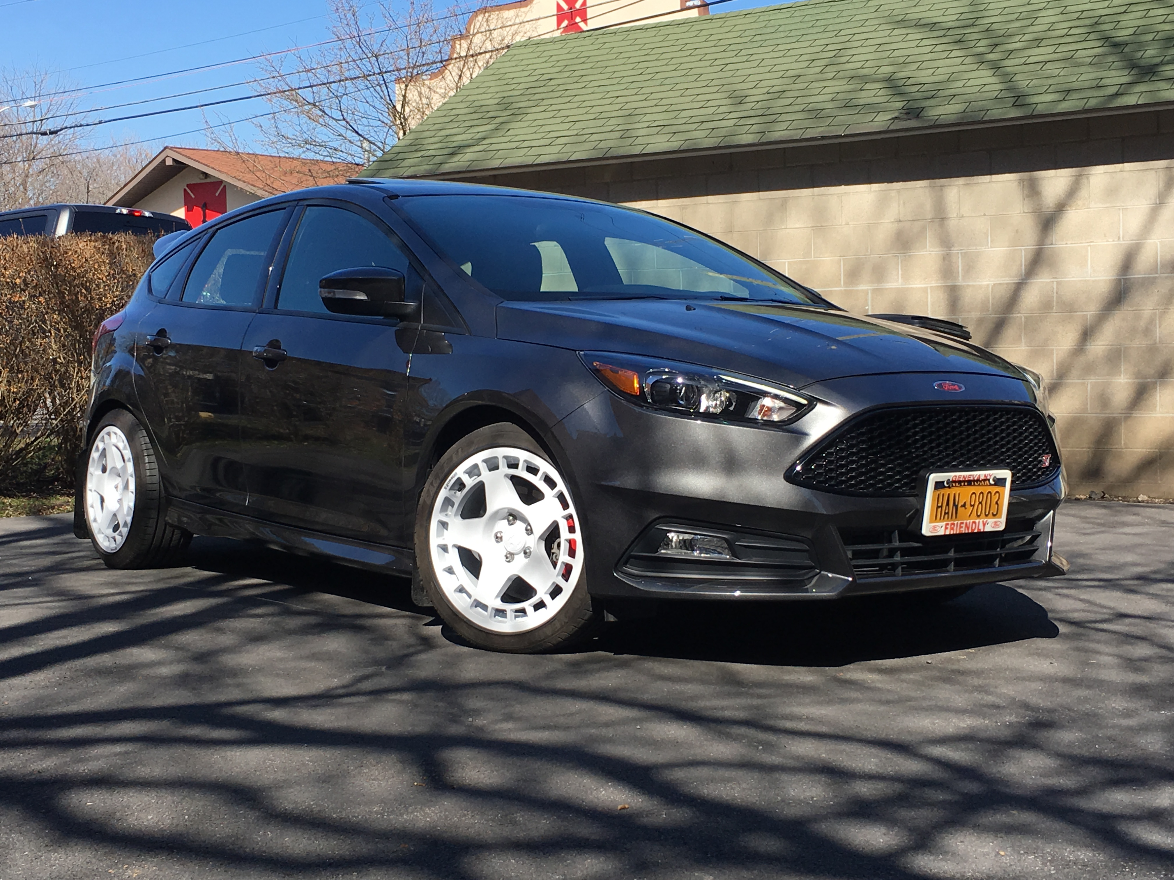 ficial Focus ST Wheel and Tire Fitment Picture Thread