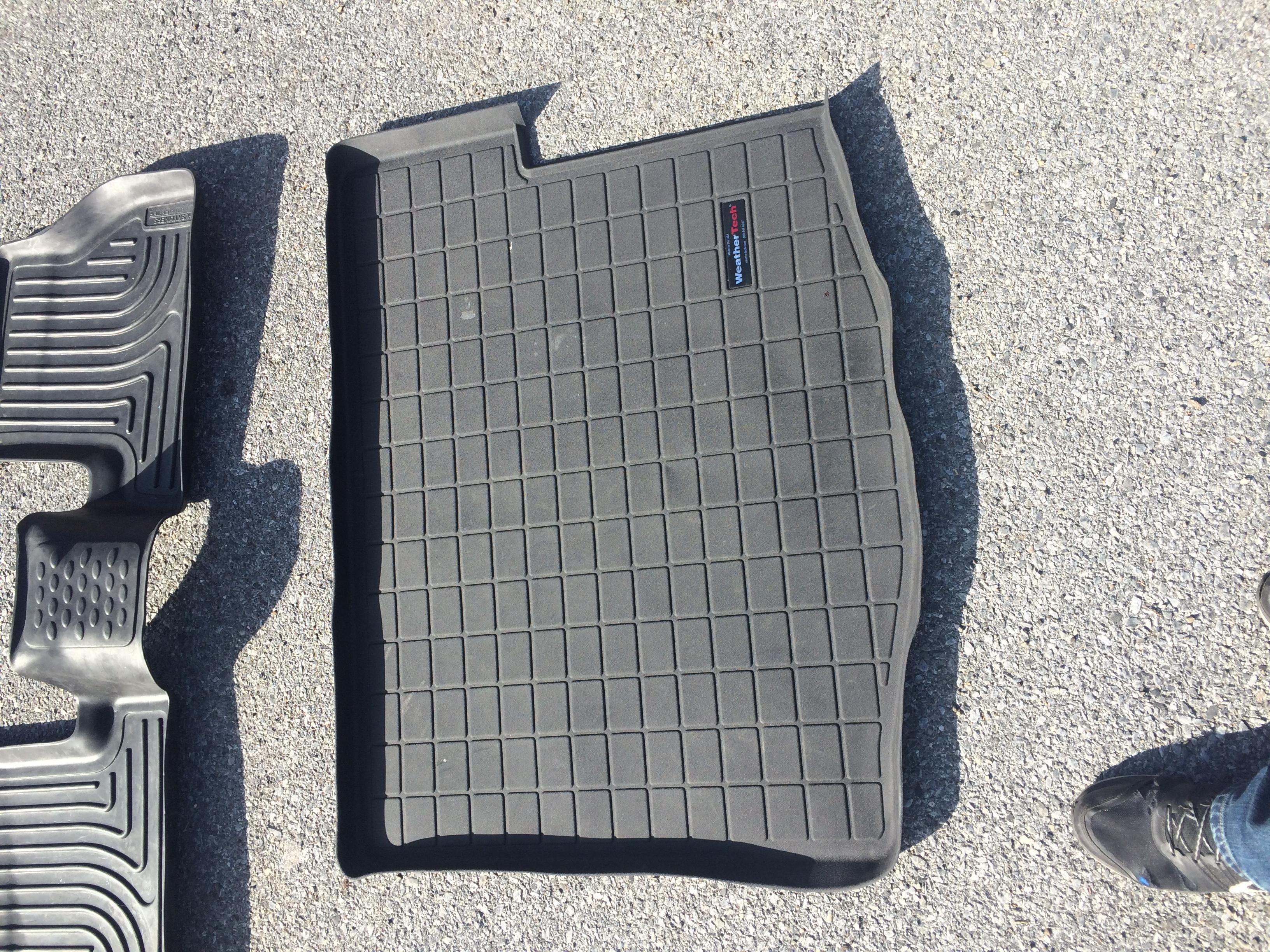 Husky Floor Liners Weathertech Trunk Mat and Cobb Accessport V3