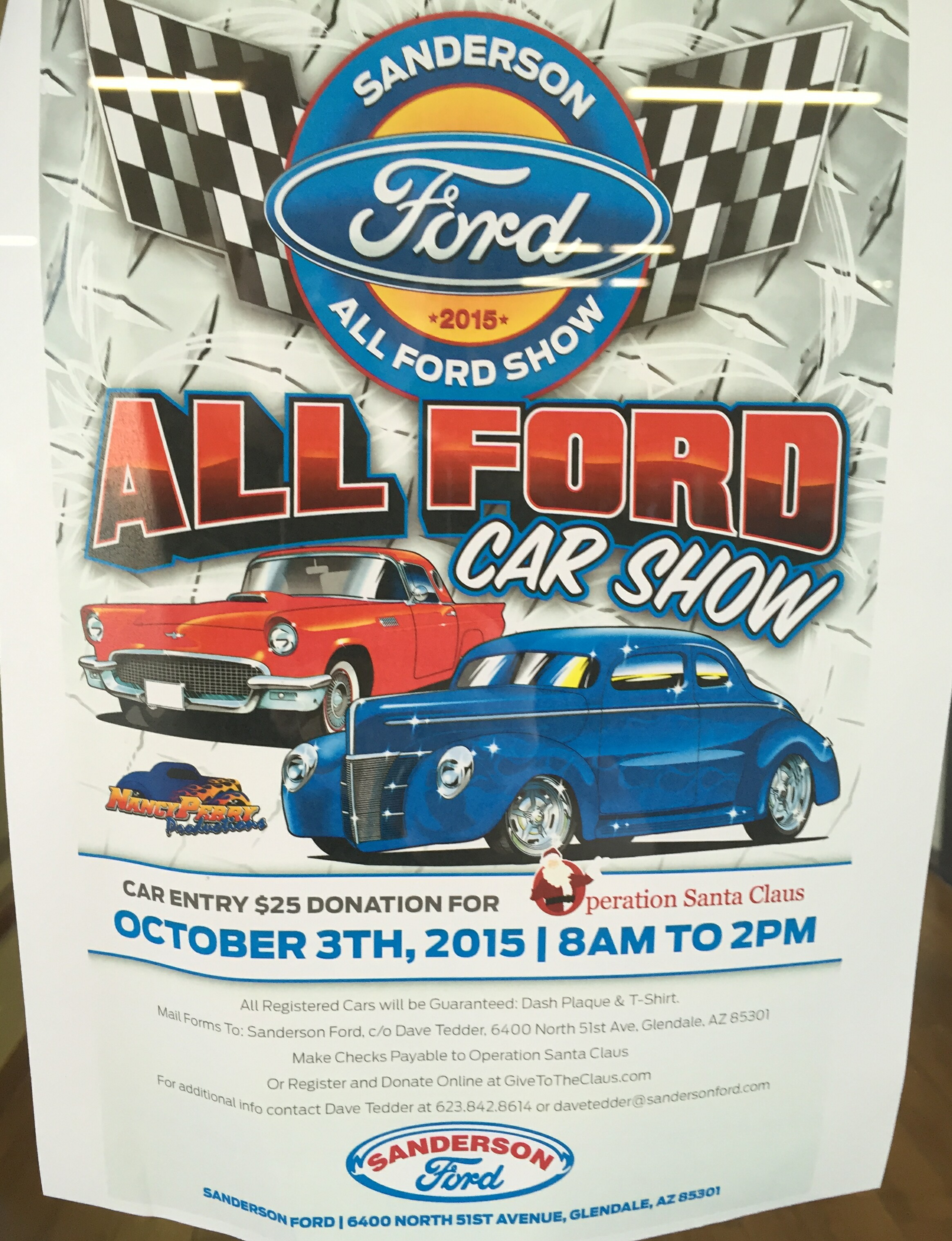 Sanderson Fords Annual All Ford Car Show Oct Rd - Sanderson ford car show