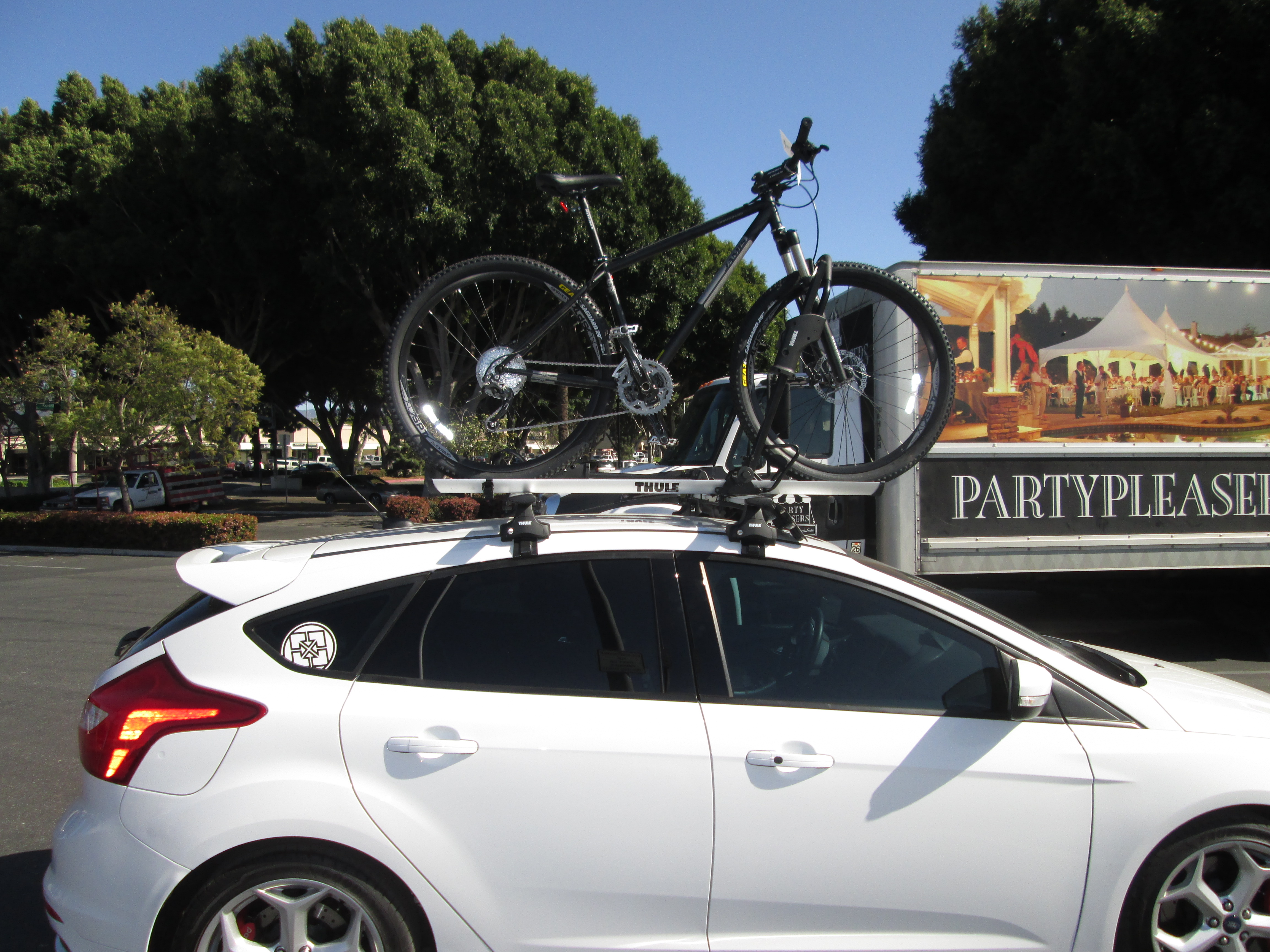 Ford Fiesta Roof Rack >> Yakima Q-Tower Roof Rack - Dubious Setup?