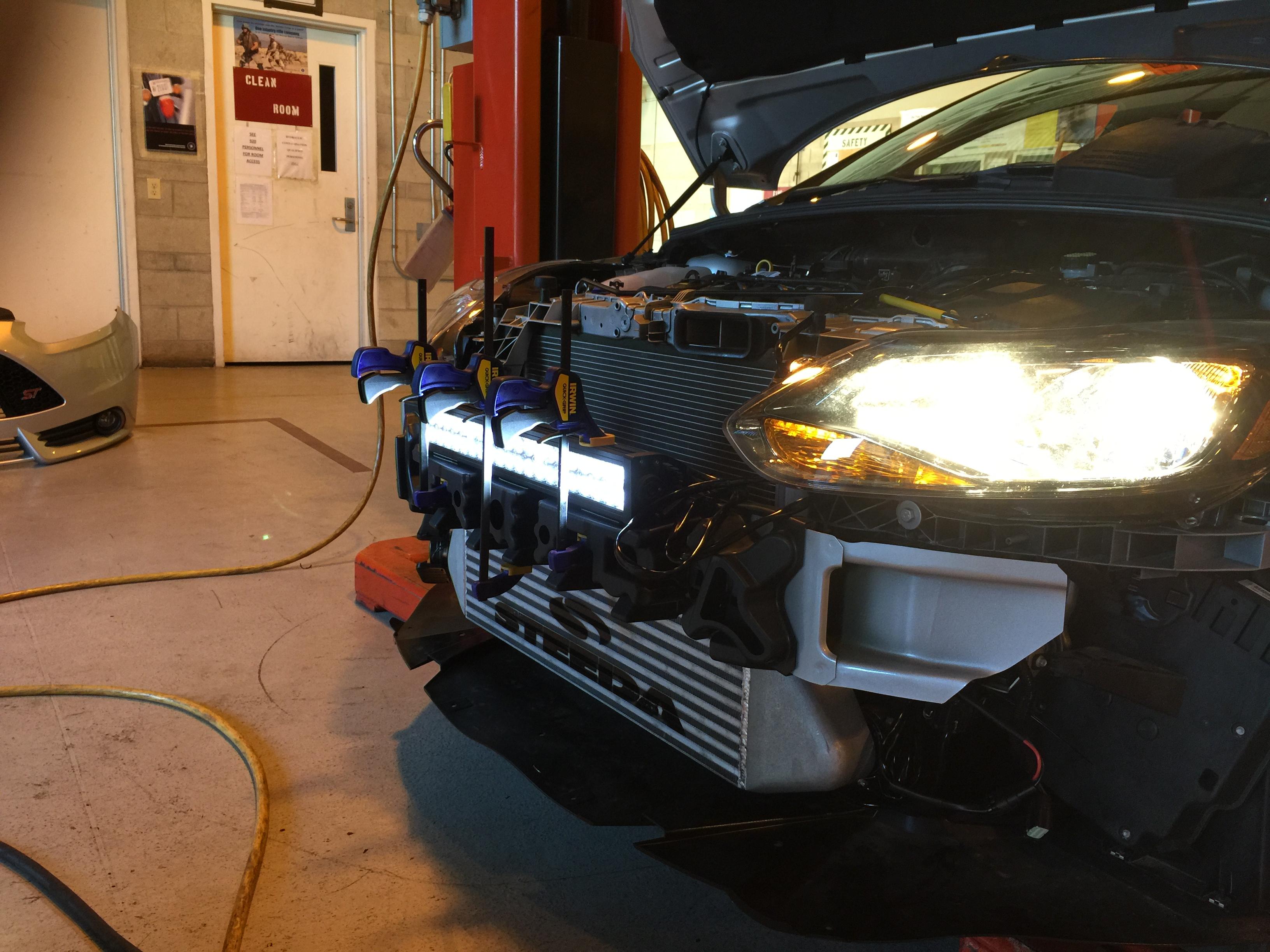 Led Light Bar Install Pic Heavy