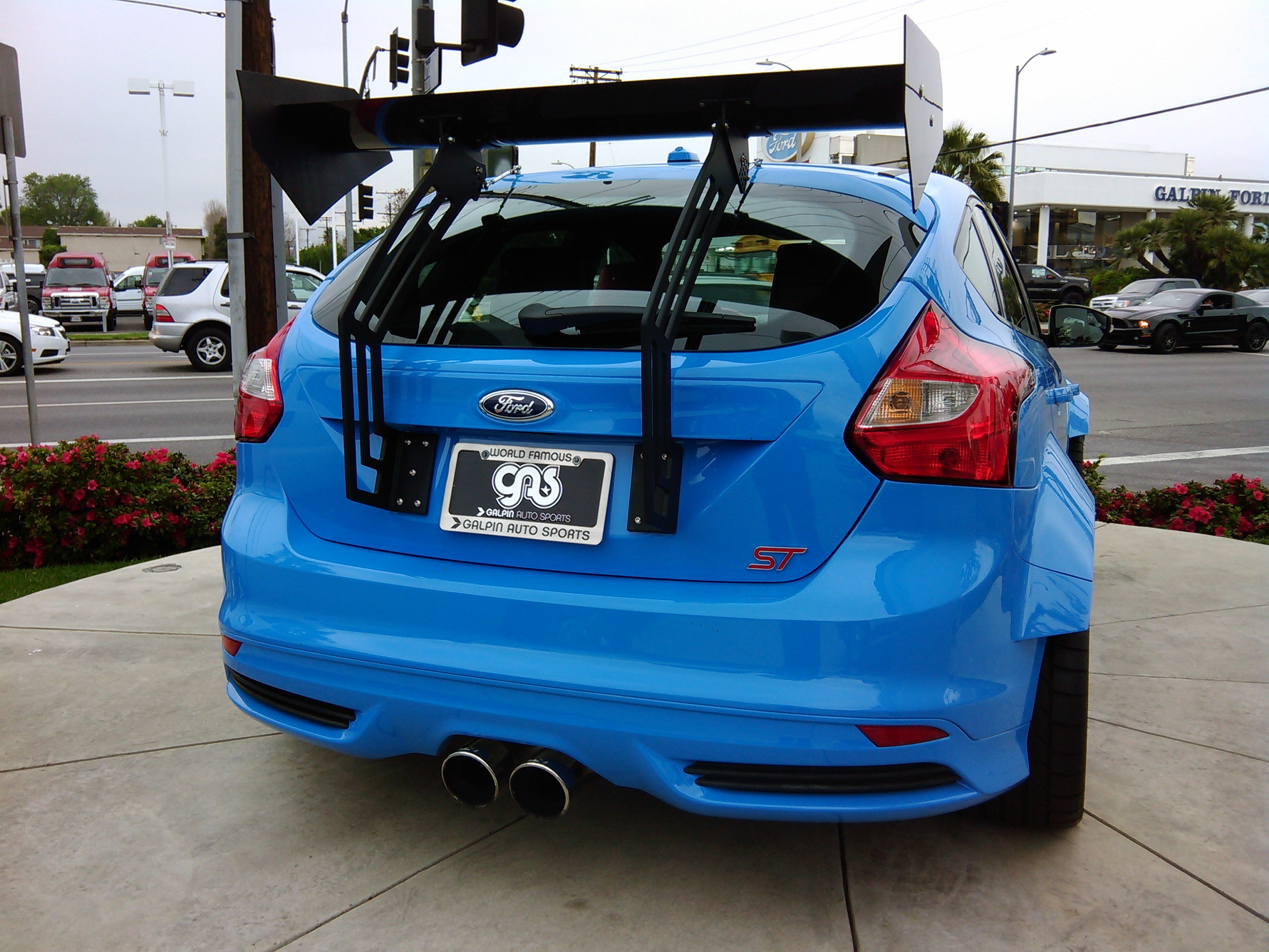 2013 Ford Focus Se Hatchback >> Focus ST Wing Riser from ***Boomba Racing*** and Edgeautosport.com!!!! Who wants one? - Page 12