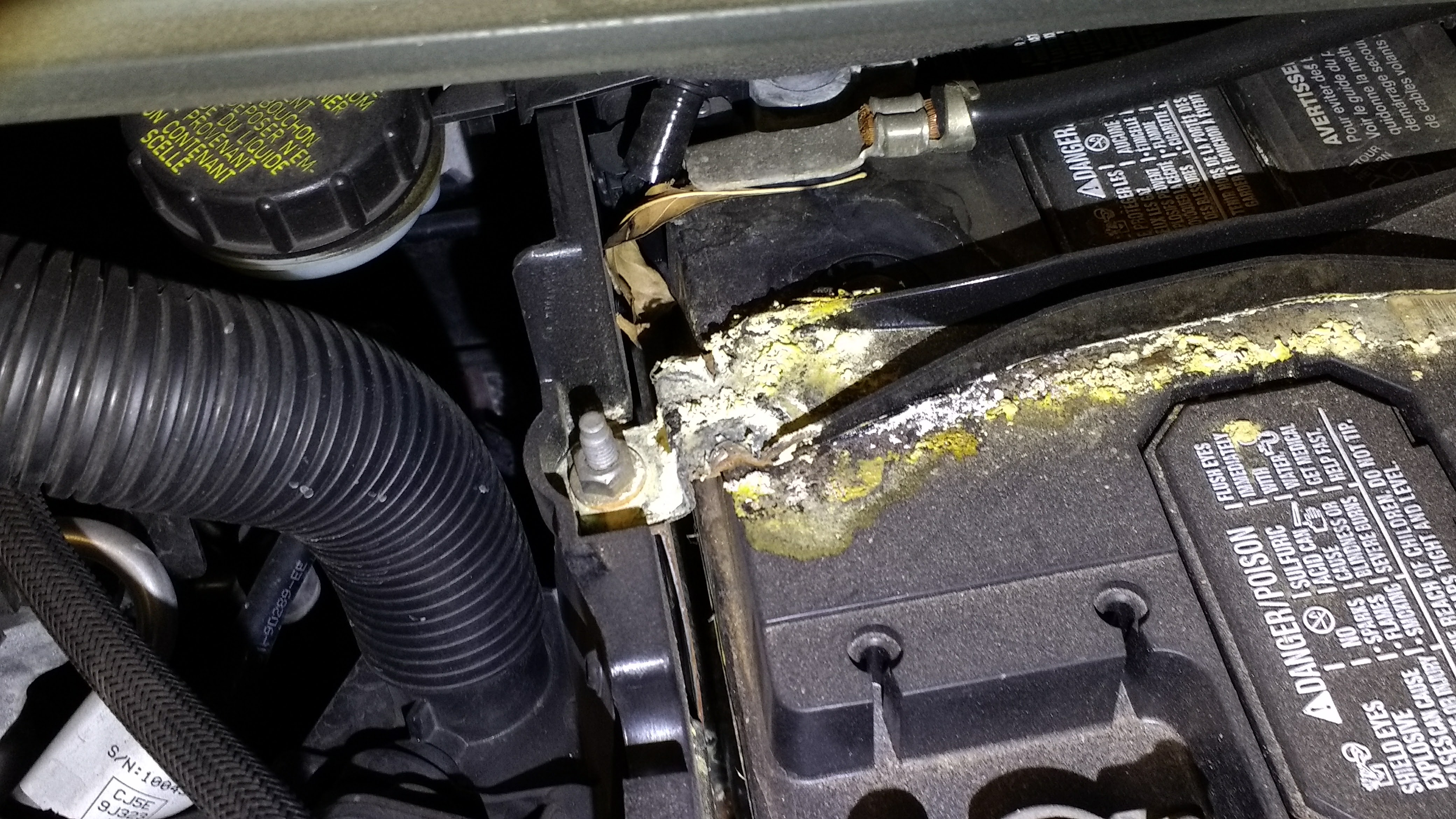 Battery Hold Down Corrosion Ford Focus St Forum