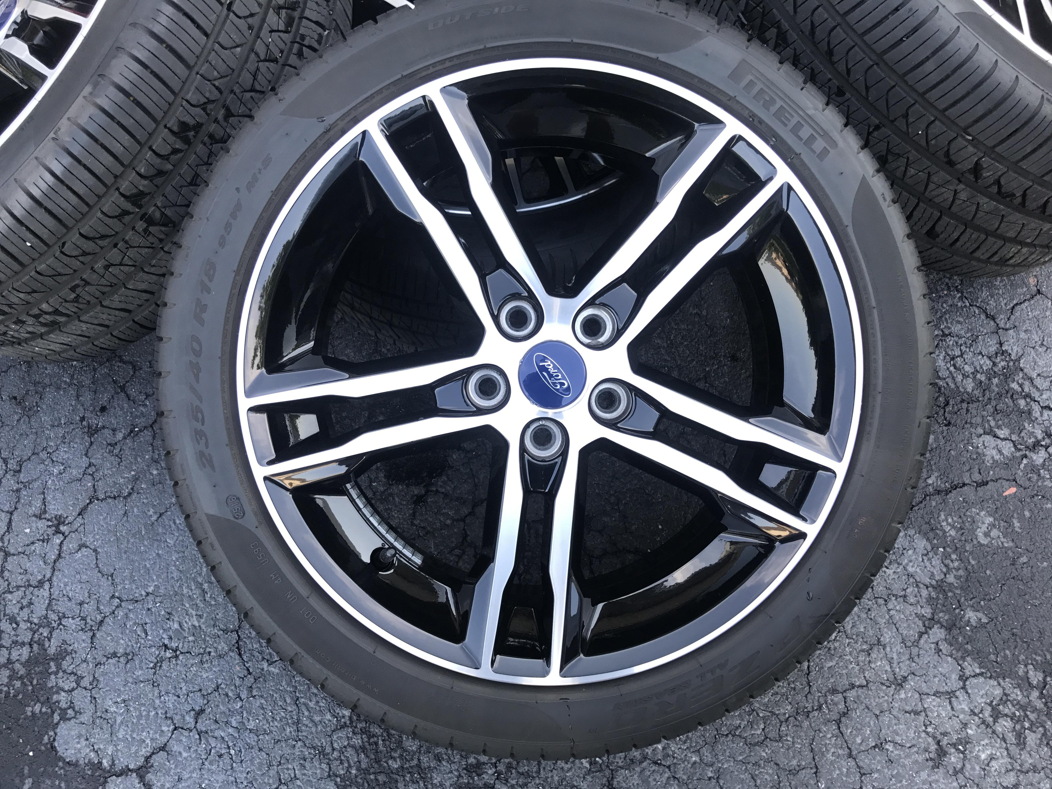 Focus St Wheels >> 2016 St premium wheels.