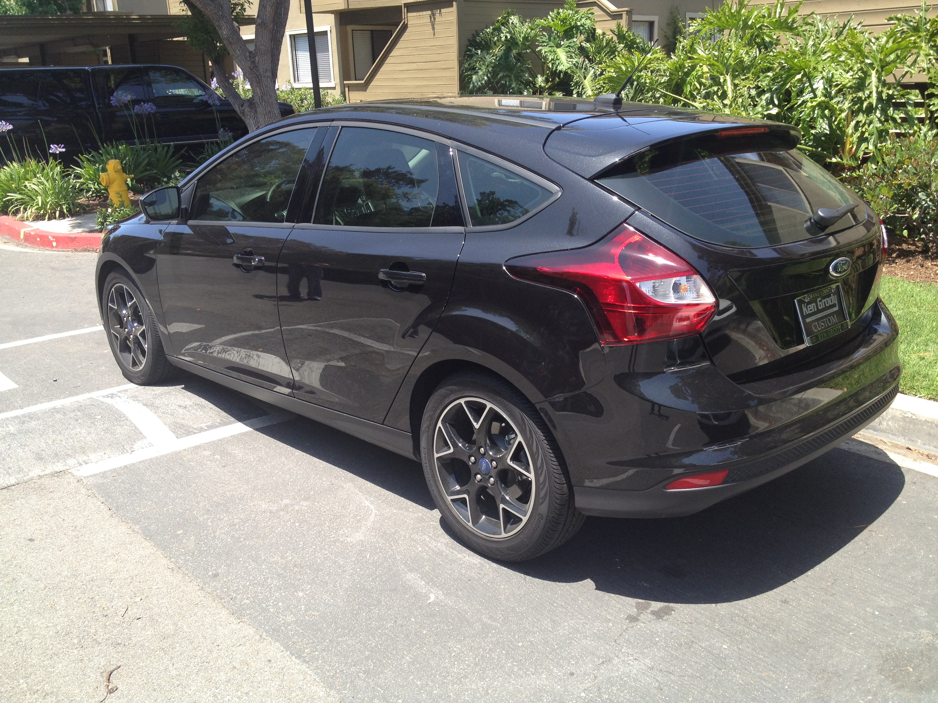 Ford Focus 2012 Hatchback Black