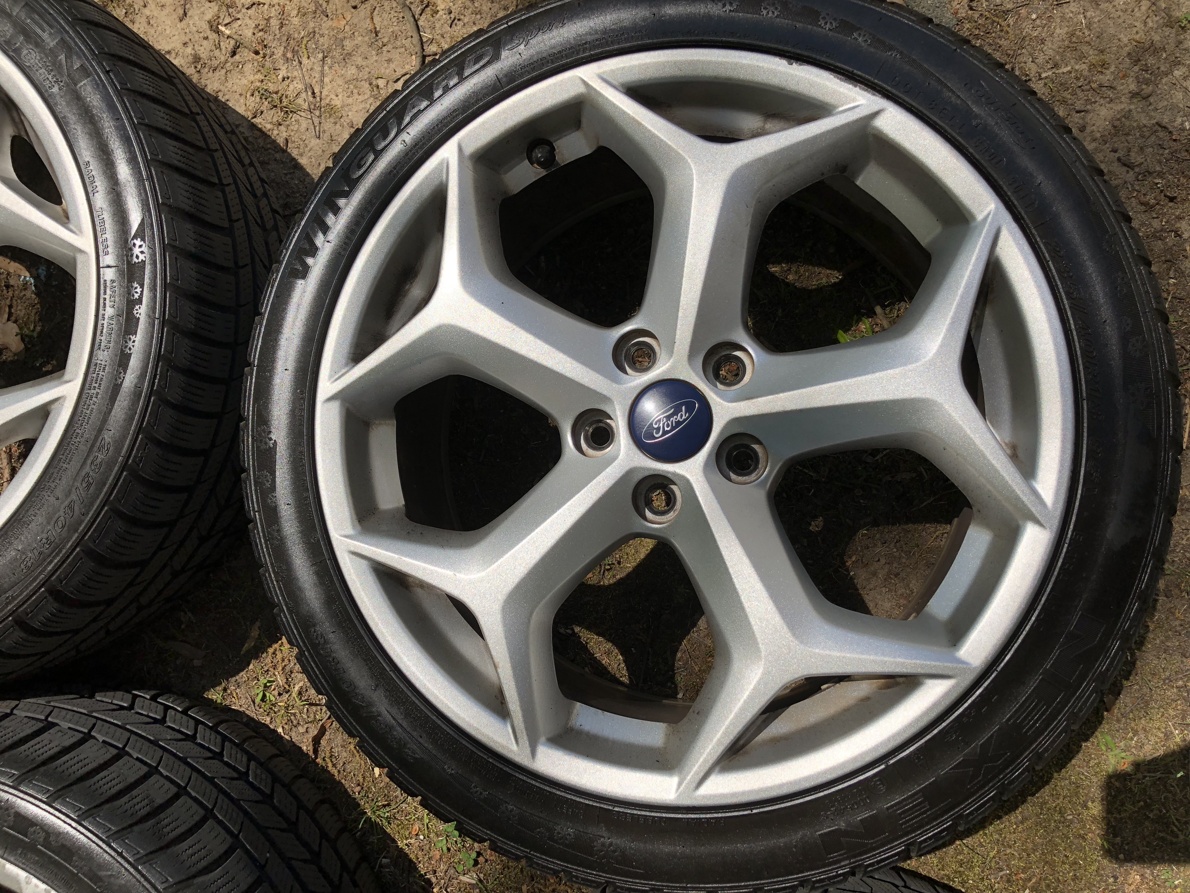FS: Stock 2013 ST Snowflake Wheels with Low-Mileage Winter