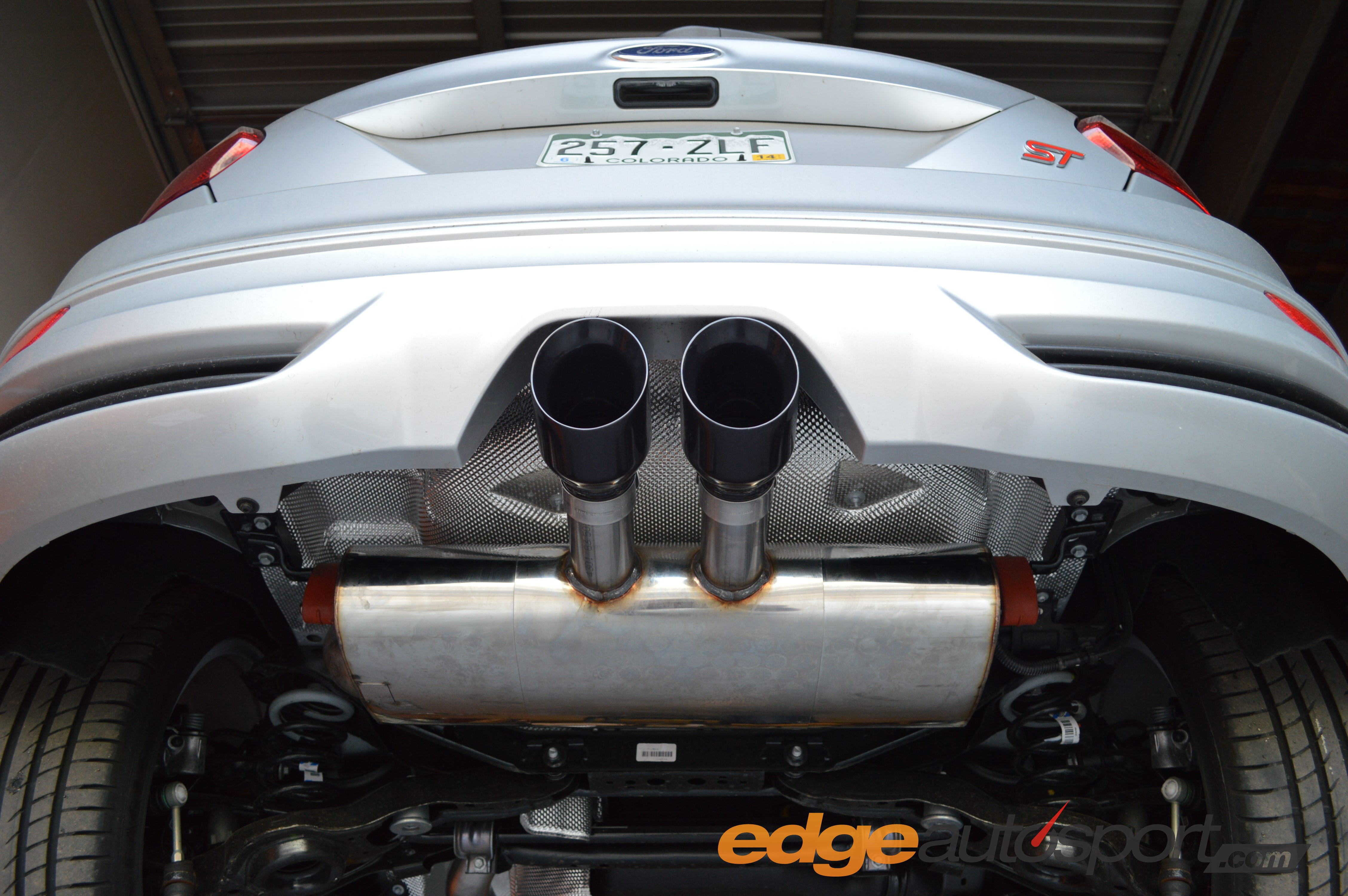 milltek catback exhaust ford focus st 2013 installation. Black Bedroom Furniture Sets. Home Design Ideas