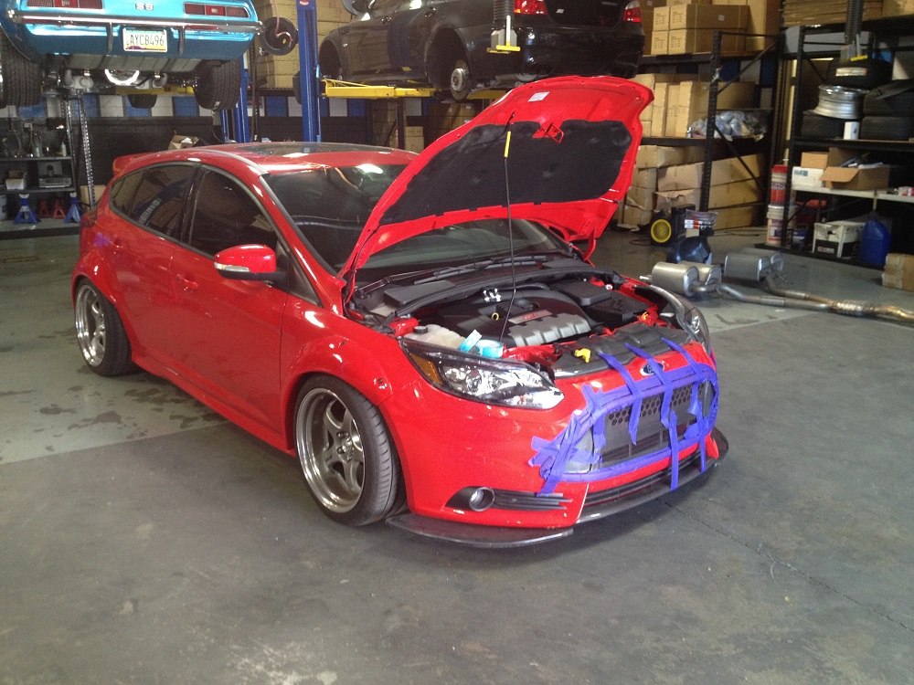 Vivid Racing's Ford Focus ST Build Thread - Page 3