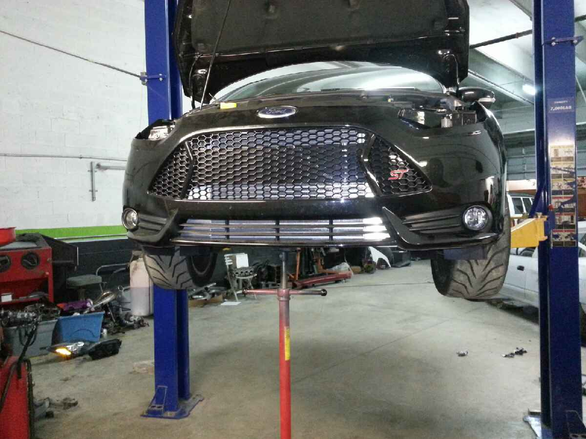 Focus St Forum >> Unleashed Intercooler development / AGS system removal photos.