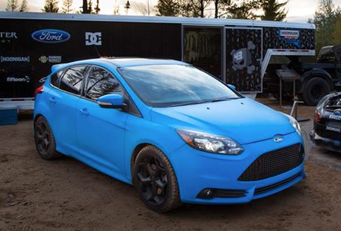 Focus St Colors >> Vinyl wrap ST's ? Post pictures!