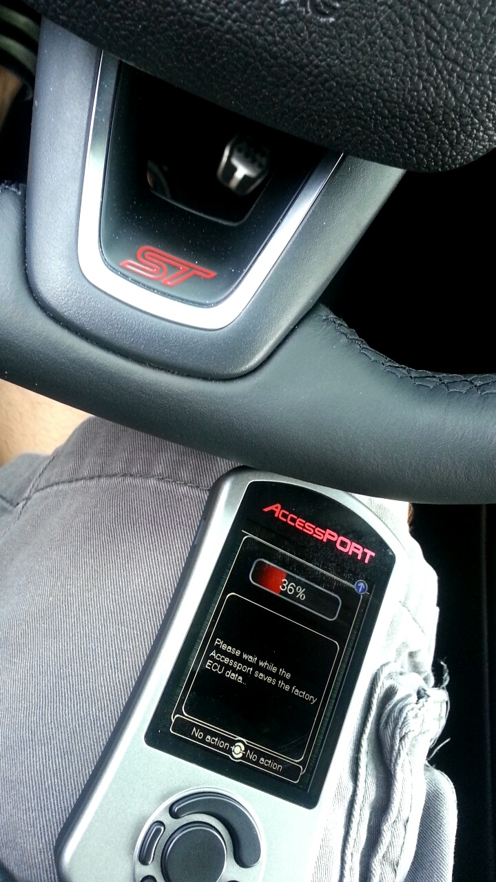 anyone have pics of 2015 focus st with cobb accessport mounted. Black Bedroom Furniture Sets. Home Design Ideas
