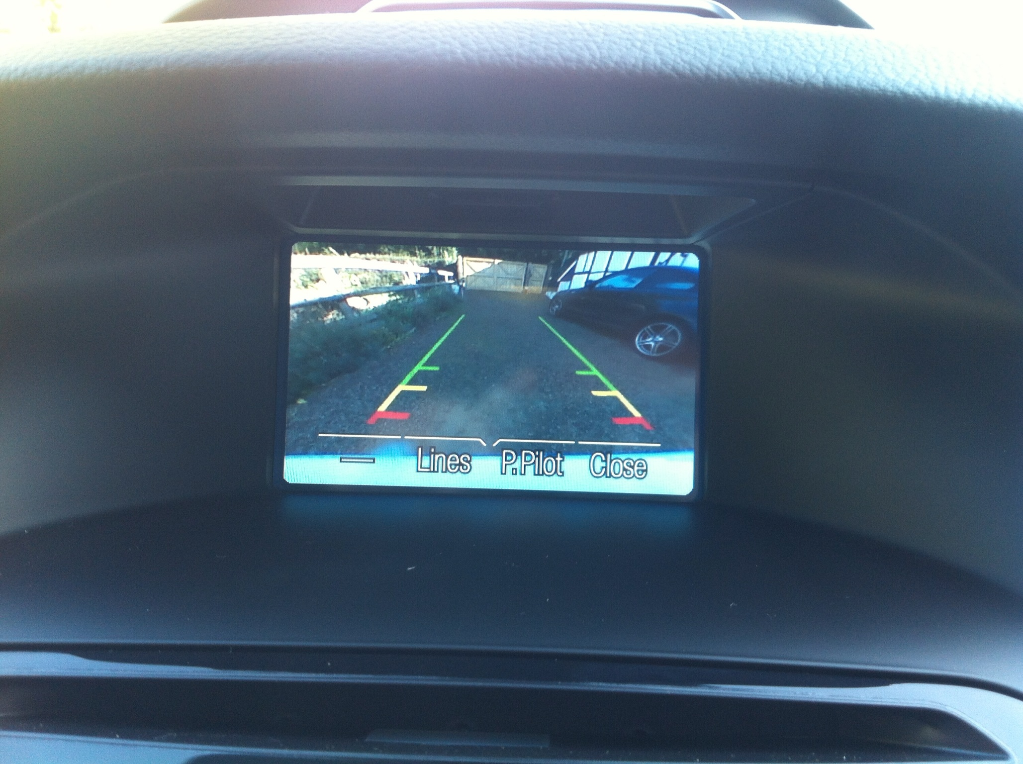 backup camera - oem install research