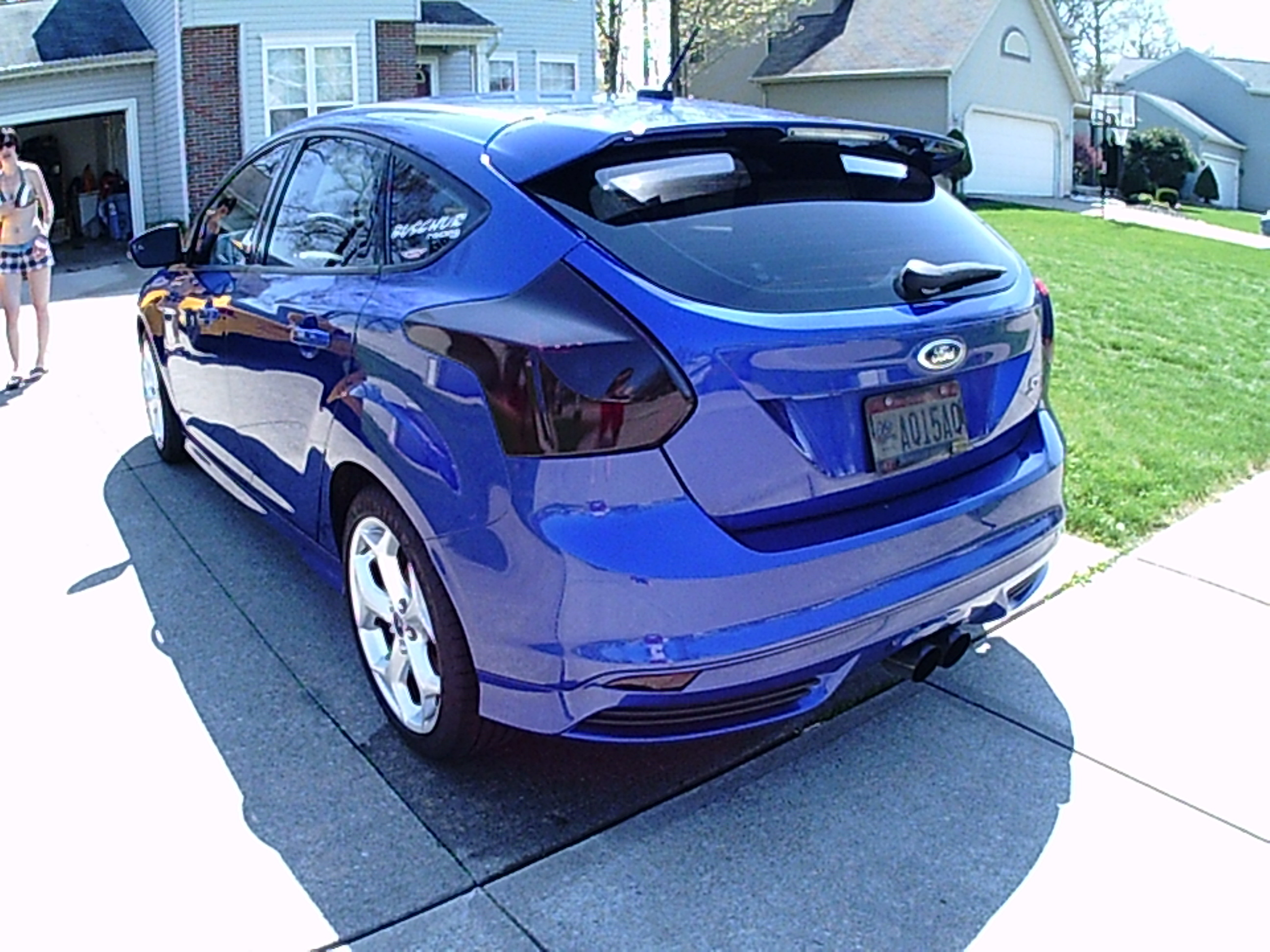 Tails And Reflectors Tinted