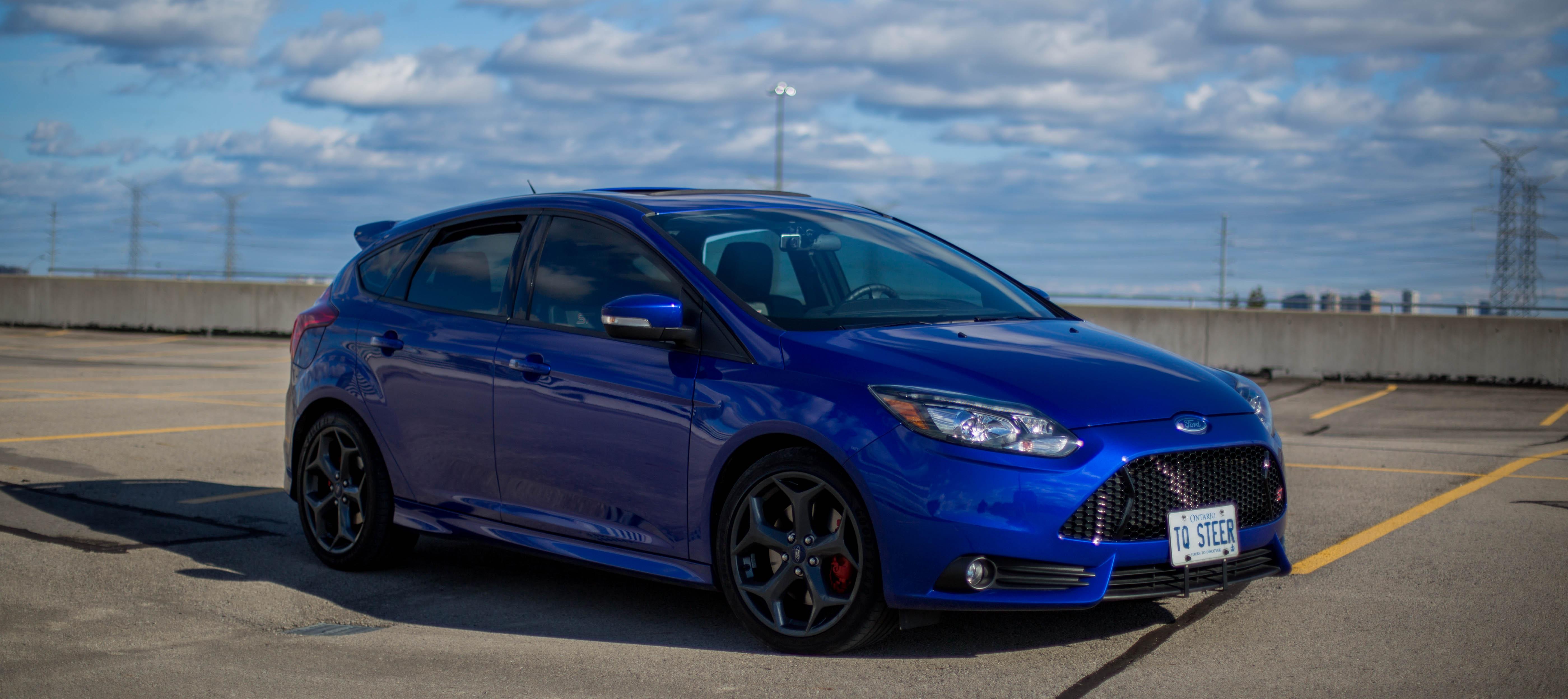 Performance Blue Focus vs Performance Blue Focus ST same ...
