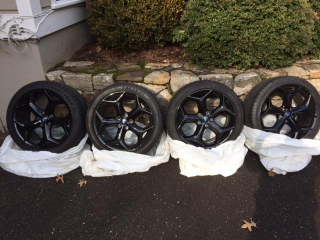 "Focus ST 18 x 8"" performance wheel set for sale"
