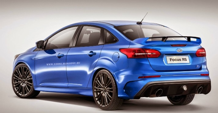 2016 Ford Focus Rs Sedan Digitally Imagined