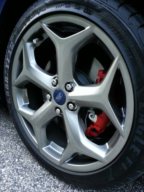 Rado Gray Alloy Wheels