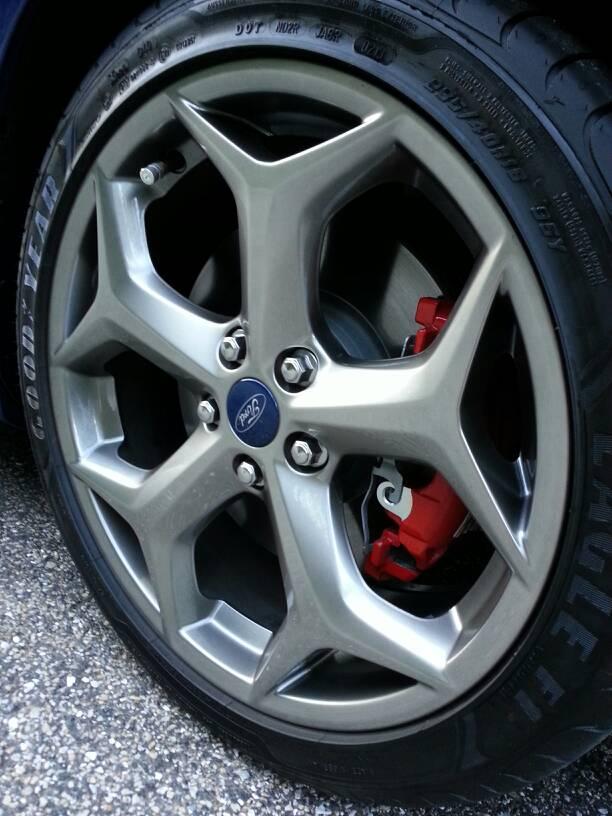 Rado Gray Alloy Wheels