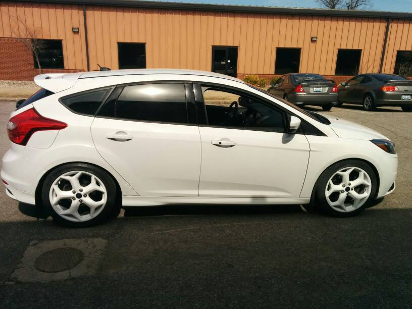 Focus St Wheels >> Best Plasti-Dip color for wheels on a white car. - Attachments