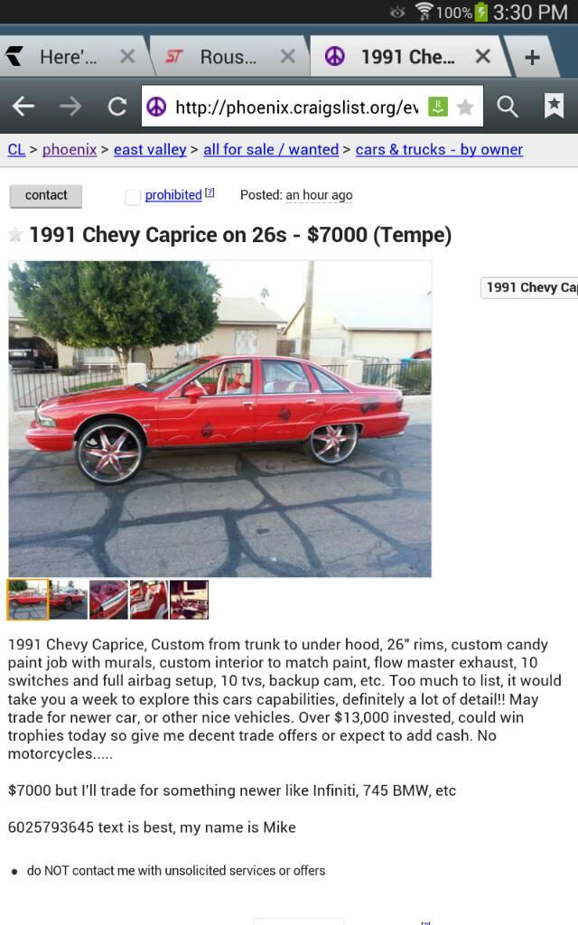 Best Craigslist Cars - Page 6