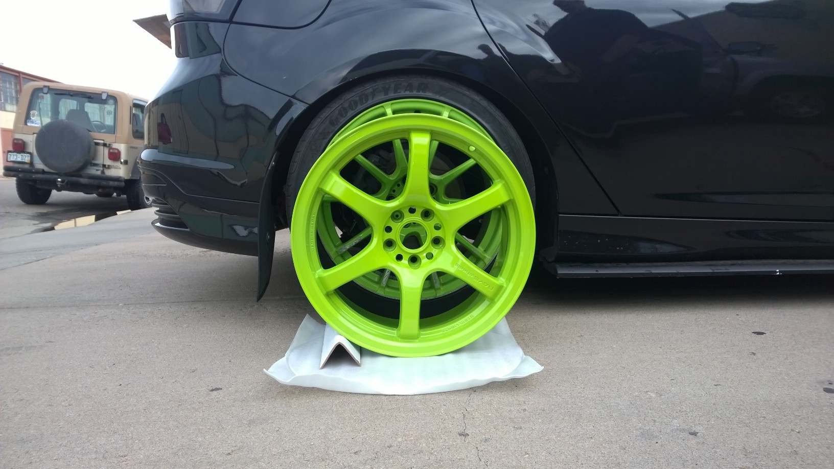 Official Focus St Wheel And Tire Fitment Picture Thread Add Your