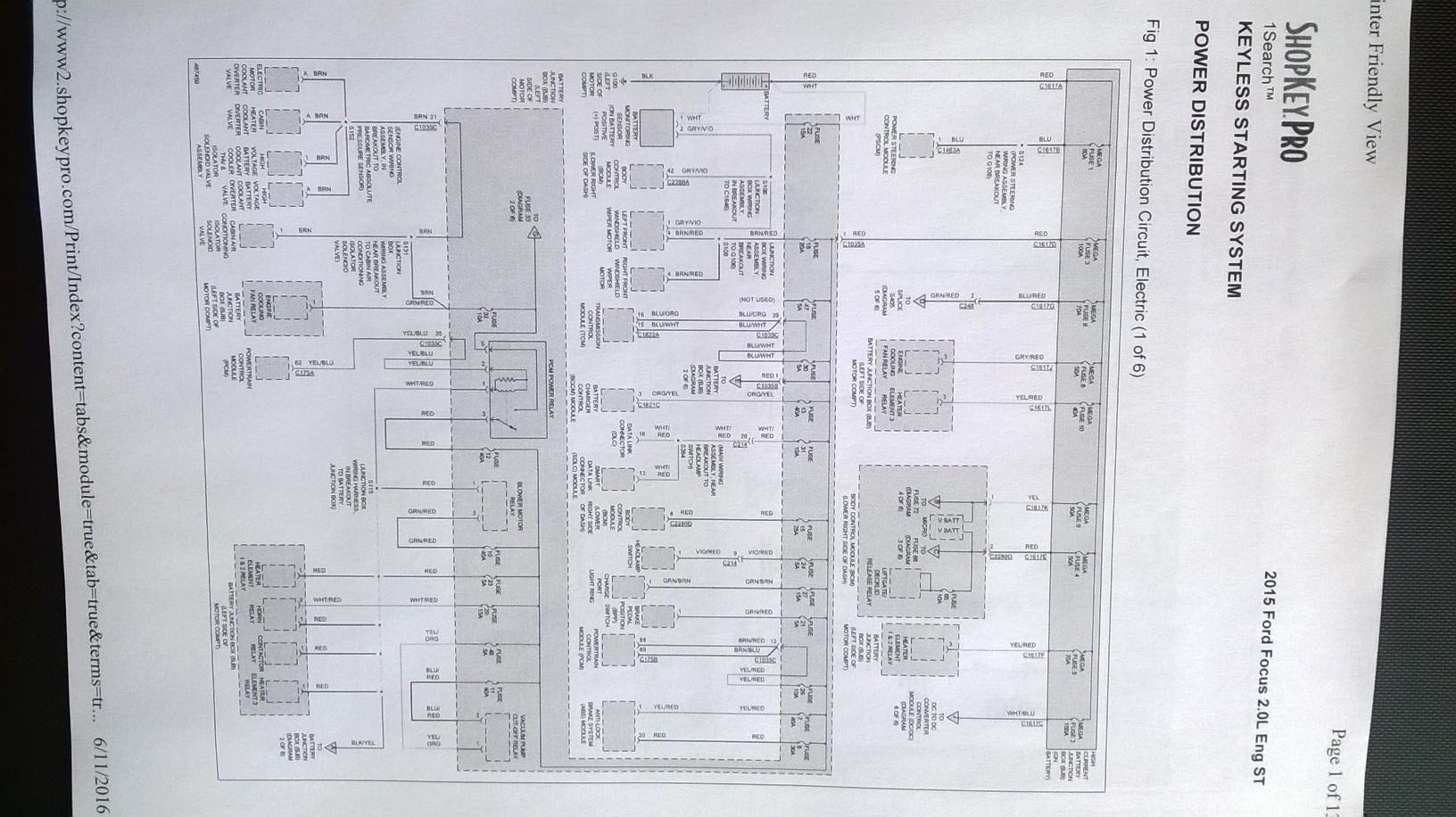 2015 Focus st3 wiring diagram | Ford Focus ST Forum | 2015 Ford Focus Wiring Diagram |  | Ford Focus ST Forum