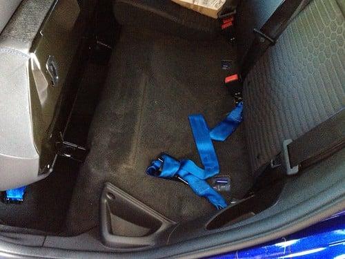 Schroth Rallye 4 ASM Four point harness install | Ford Focus ST Forum